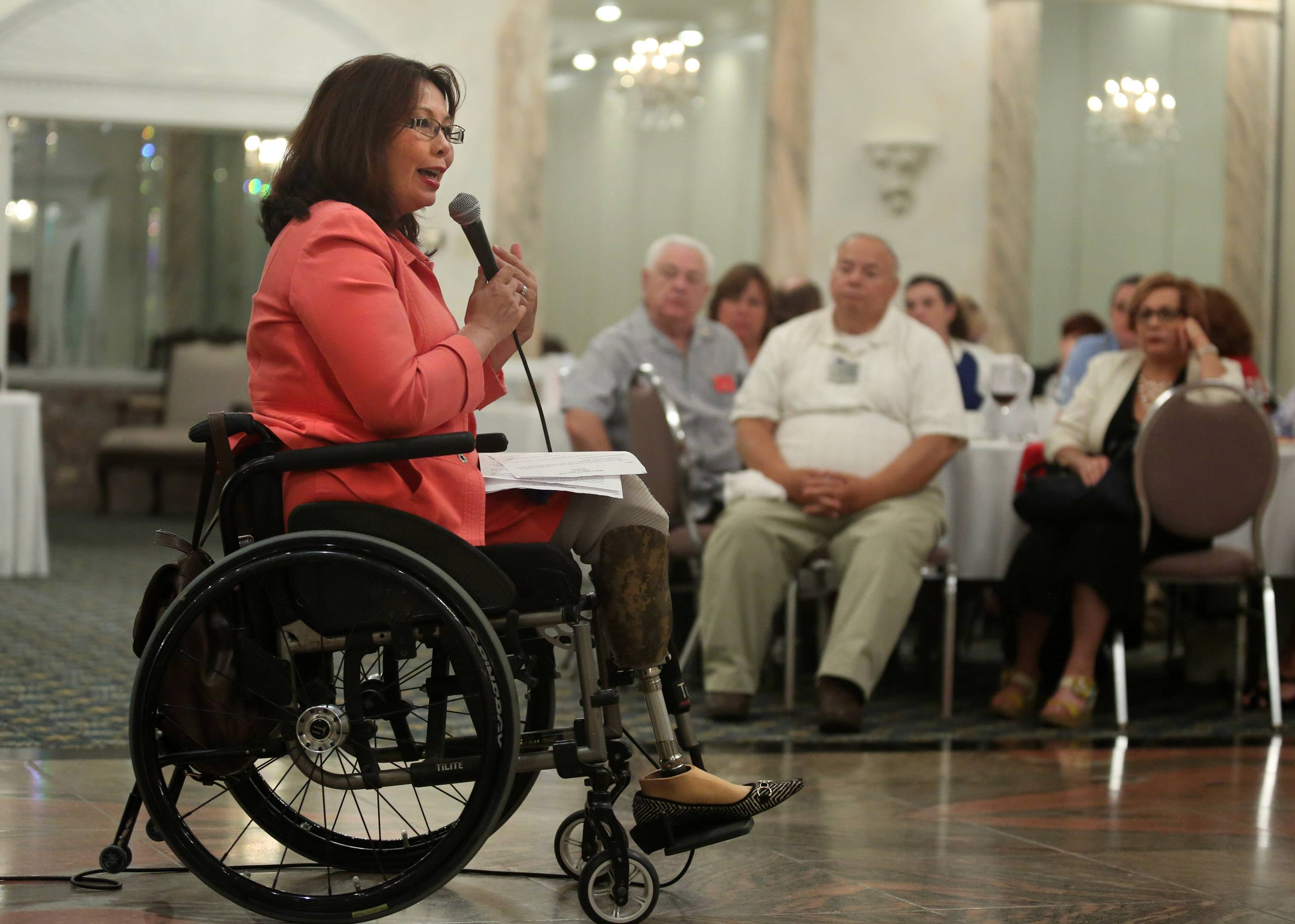 Images: Tammy Duckworth in the Suburbs