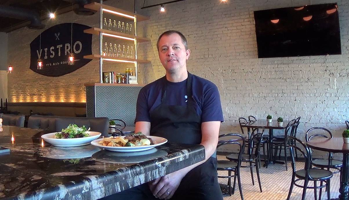 Chef Paul Virant, who's a national award winner and on the forefront of the farm-to-table movement, opened Vistro in Hinsdale.