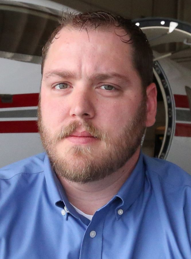 Matt Backues of Streamwood, a chief inspector at Priester Aviation at Chicago Executive Airport in Wheeling, helped drag Tammy Duckworth to safety after her helicopter was hit by enemy fire and landed.