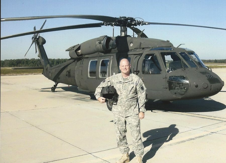 Pilot in command Dan Milberg landed the Black Hawk helicopter after it was hit by a rocket-propelled grenade, but still faced a chaotic scene of badly wounded crew members on the ground in enemy territory. He directed the rescue.