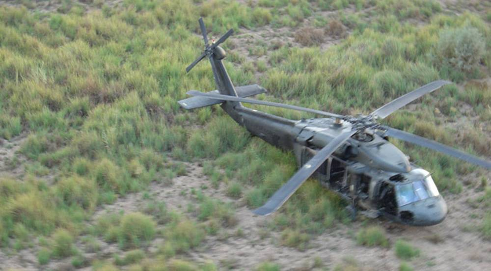 This is the only known photo of Tammy Duckworth's Black Hawk helicopter that was shot down 10 years ago.