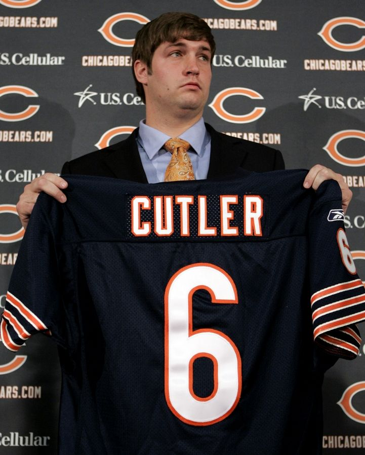 new product 421a4 67014 Constable: Bear market for Cutler jerseys, but Blackhawks ...