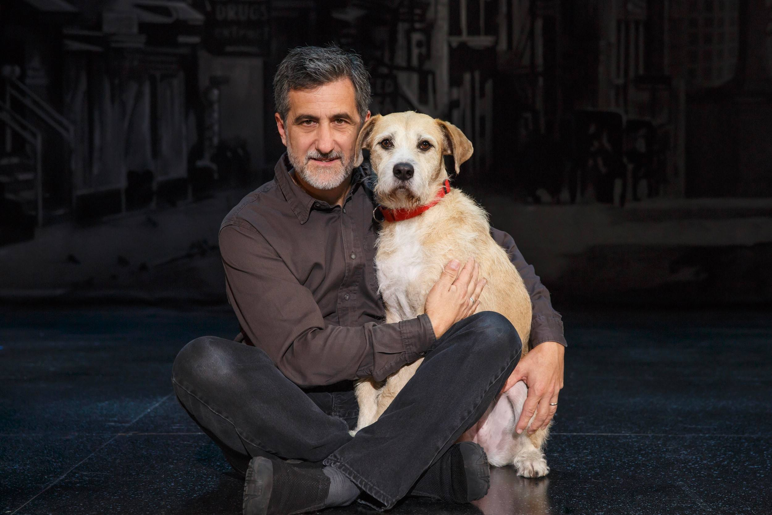 "Animal trainer William Berloni trained the shelter dog Sunny to star as Sandy in the 2012 Broadway revival and the current national tour of ""Annie,"" which plays the Cadillac Palace Theatre in Chicago from Tuesday, Nov. 18, through Sunday, Nov. 30."