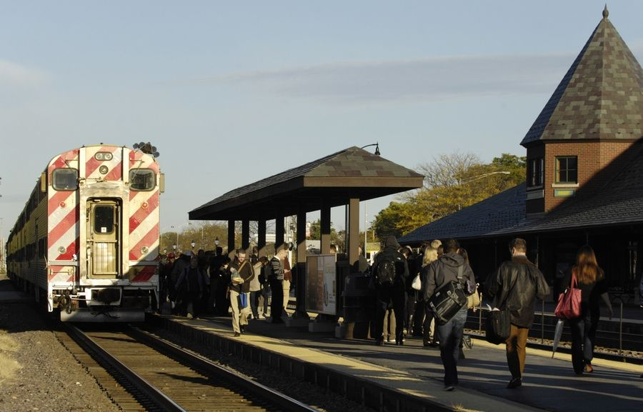 Coming to a station near you in 2015 -- expected fare hikes from Metra.