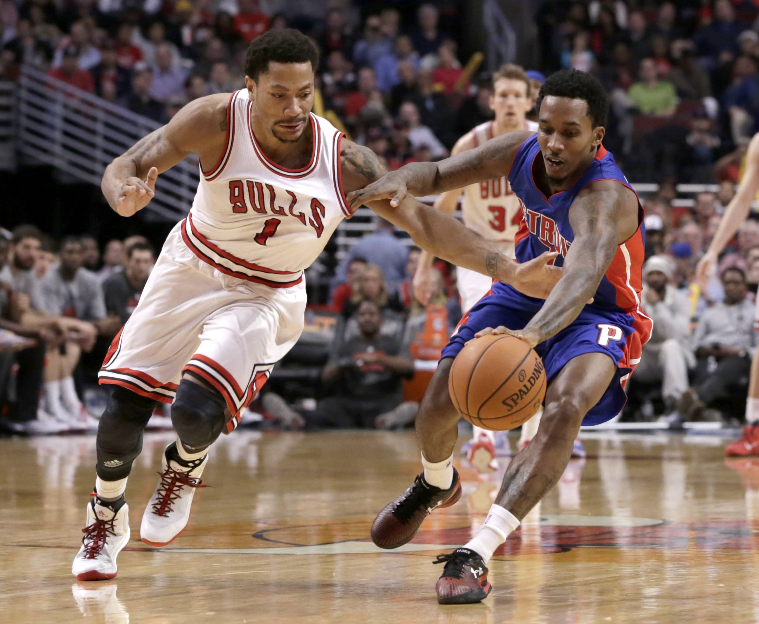 Derrick Rose is questionable for tonight's game against Indiana.