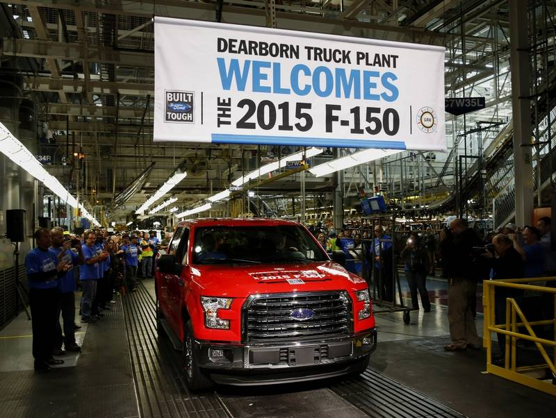 Ford Motor Co F150 Production Autos Post