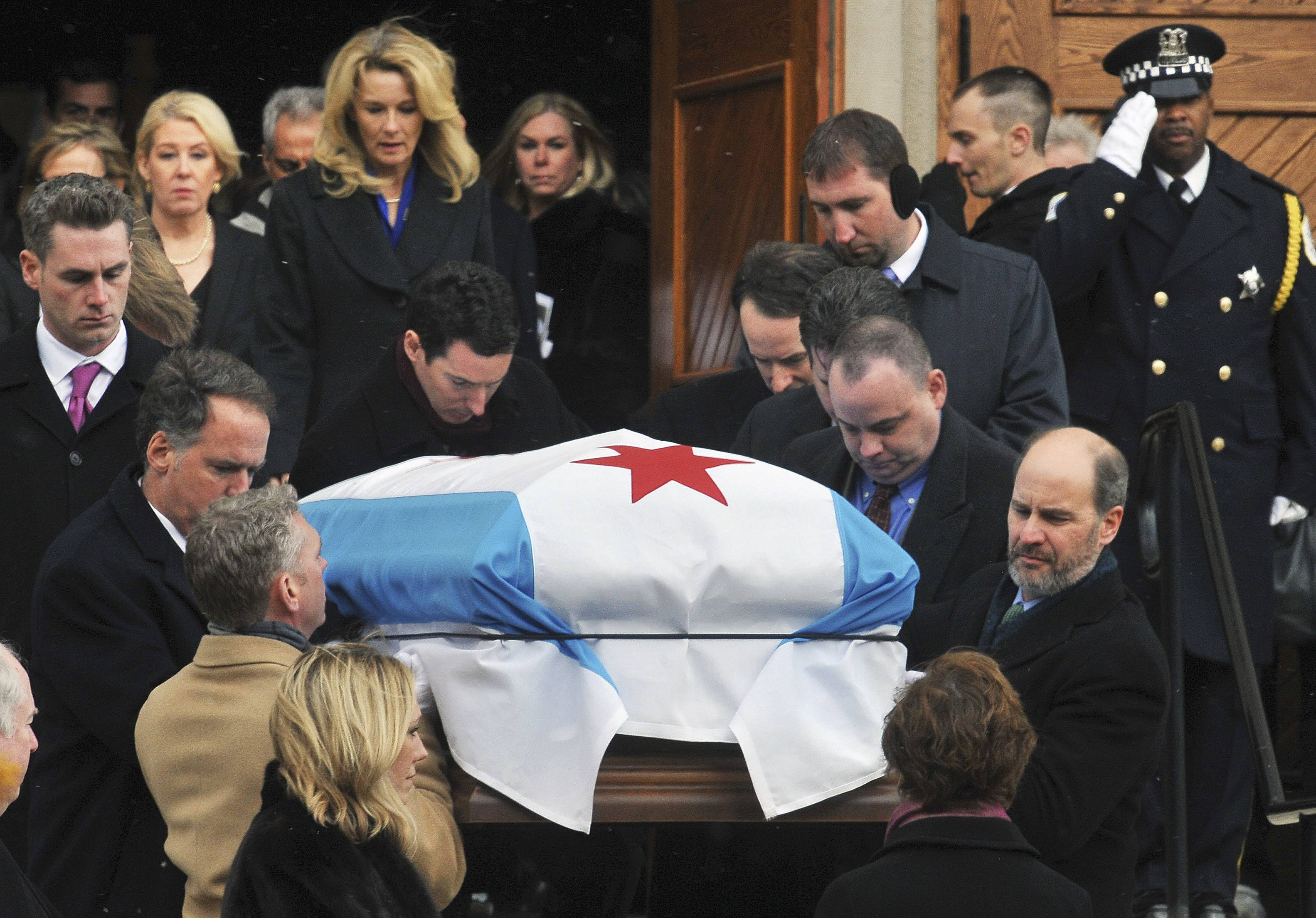 Ex-Chicago Mayor Jane Byrne laid to rest