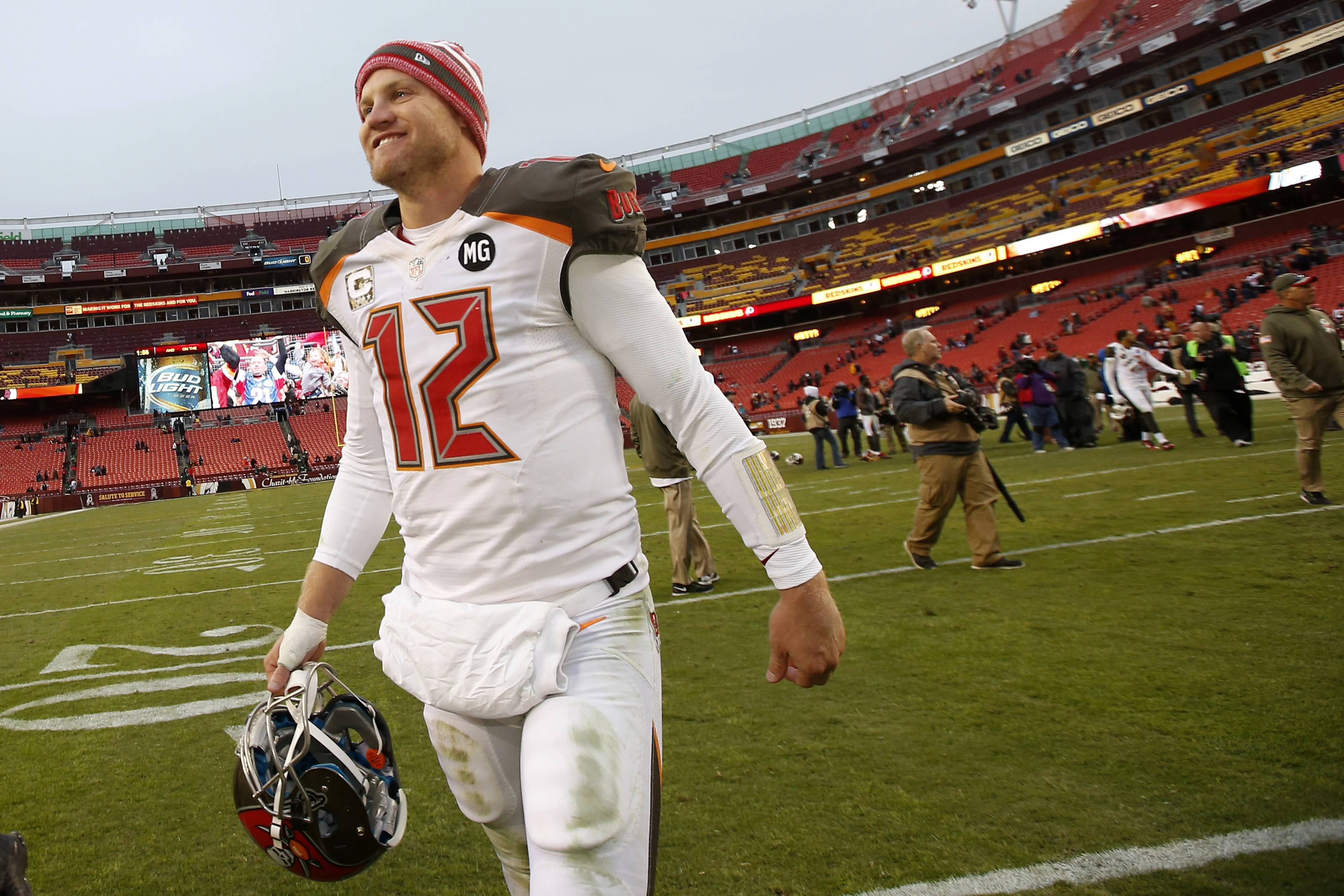 Josh McCown, who threw 13 TD passes and 1 interception last season for the Bears, has only played in five games for Tampa Bay this season, but he did lead the Bucs to a 27-7 win Sunday.