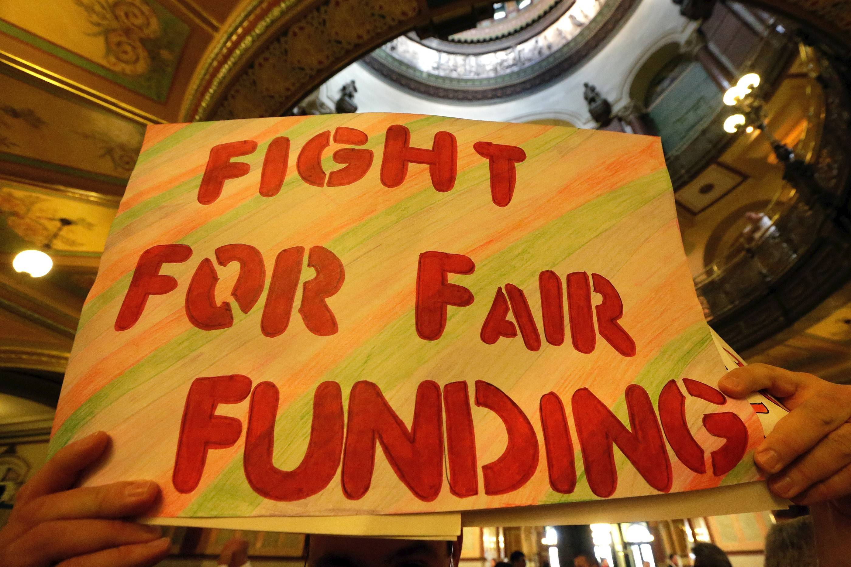 Schools plead different sides of proposed state funding shakeup