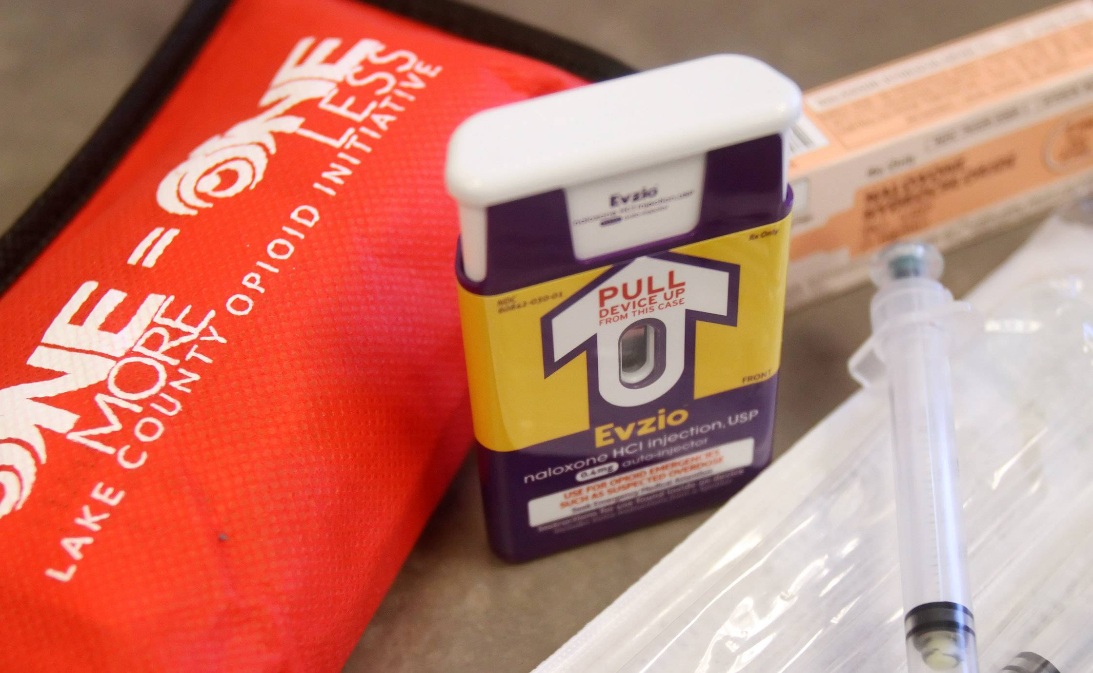 There are different ways to give overdose victims naloxone, a nonaddictive drug that counteracts the effects of opiates, including heroin. Lake County State's Attorney Mike Nerheim announced the Lake County Naloxone Police Program on Tuesday.