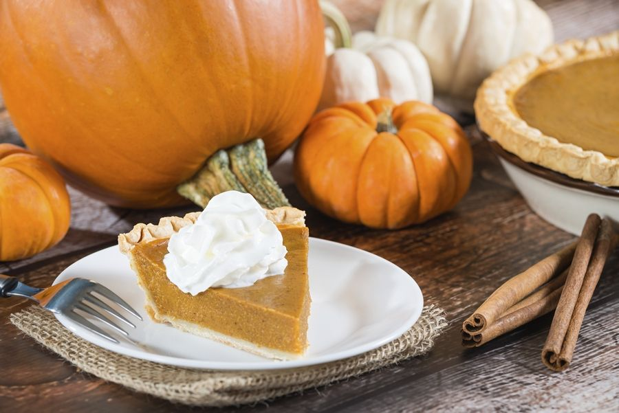 For Thanksgiving, opt for a traditional slice of pumpkin pie or try a new twist.