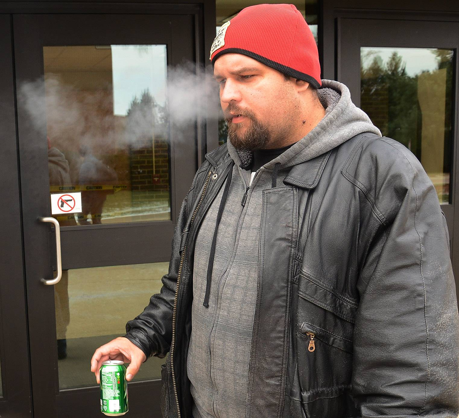 """I don't like it. It's going to irritate most of the students and faculty,"" Steven Delonka of Schaumburg said of the ban."