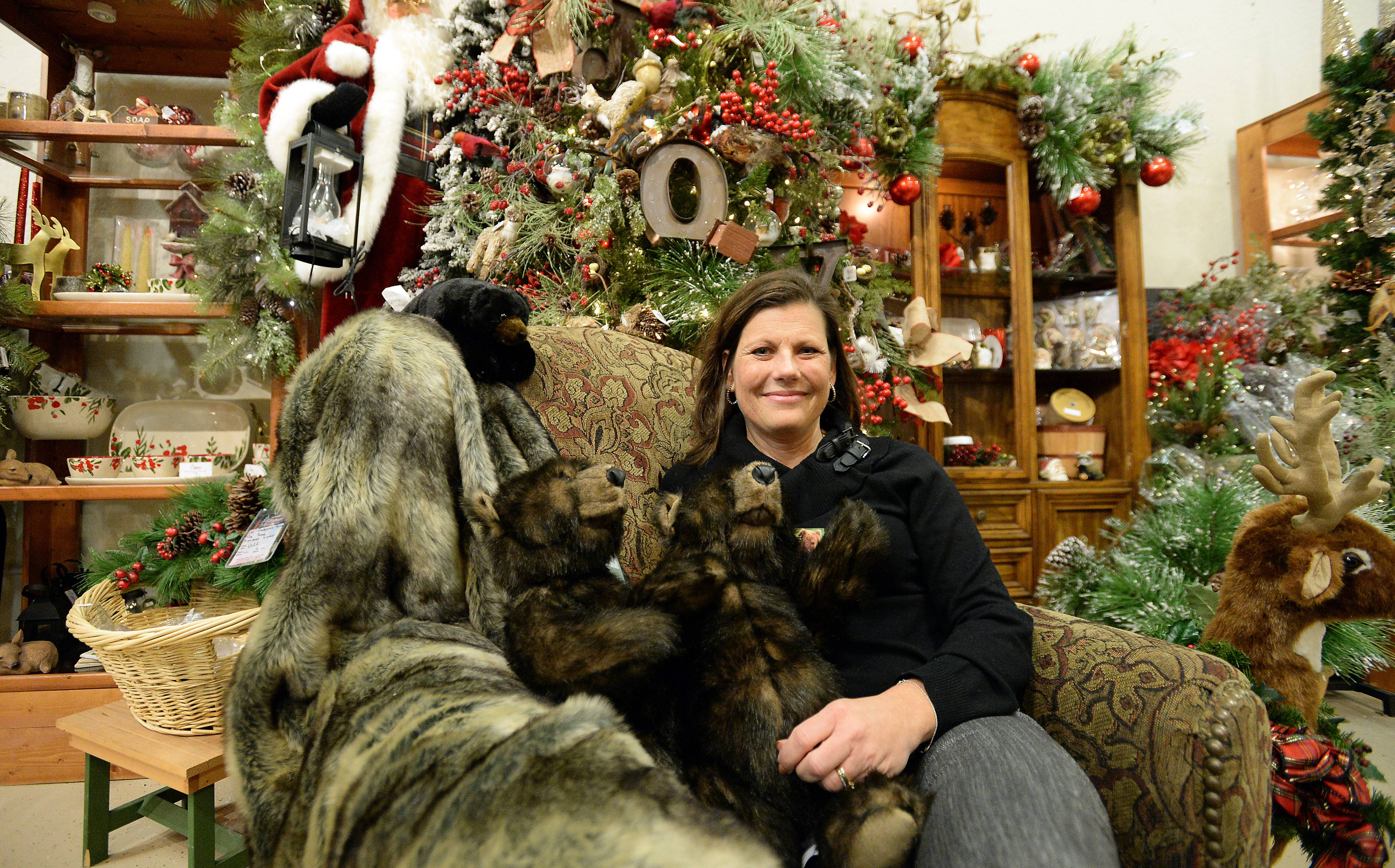Owner Laurie Kane of Treetime Christmas Creations in Lake Barrington hopes to make visits to her store an annual tradition for many suburban families.