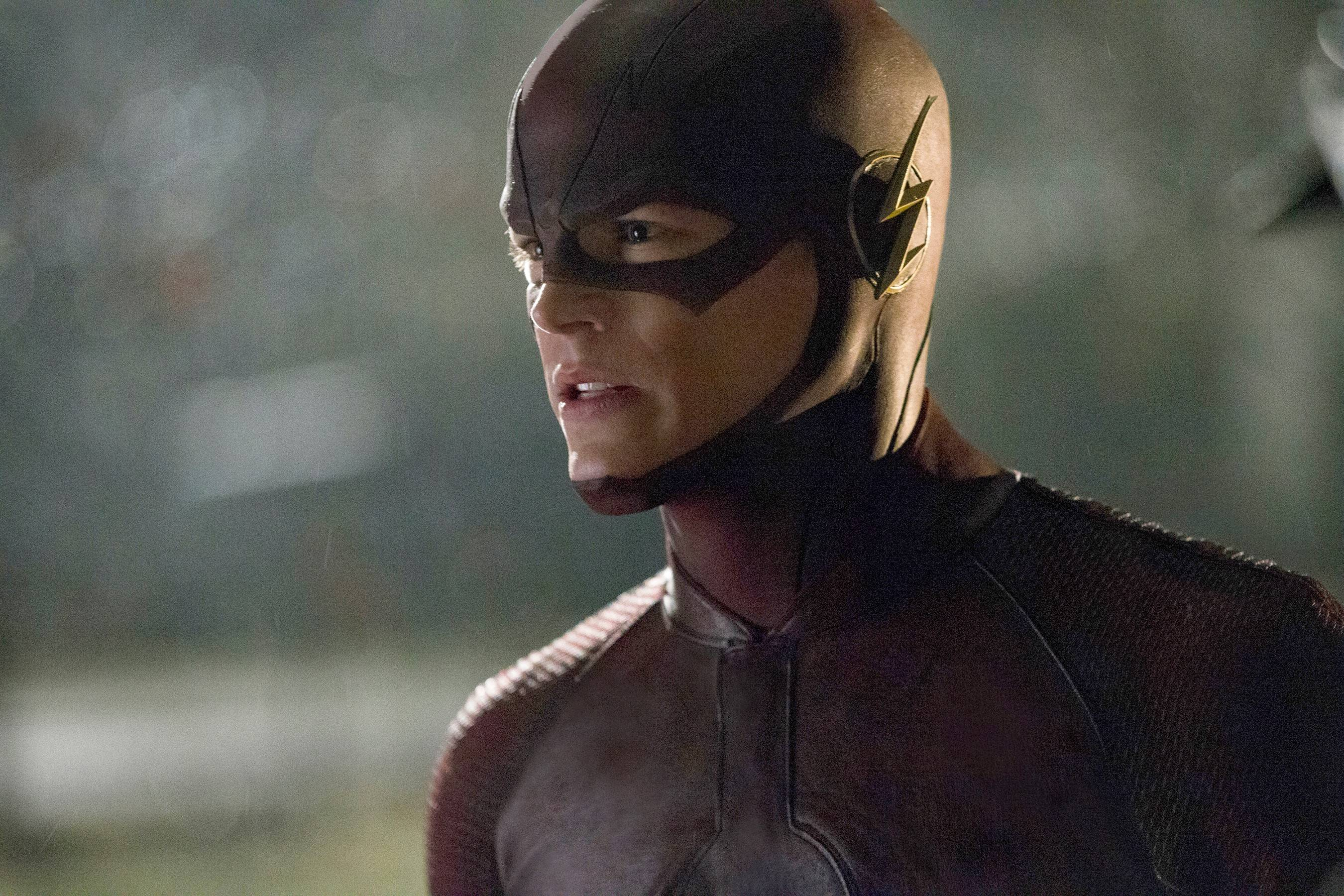 "Grant Gustin stars as Barry Allen in ""The Flash,"" one of two new TV dramas that champion kindness and decency."