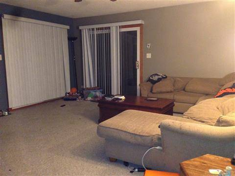 Cindy Krizizke's living room will get a makeover.