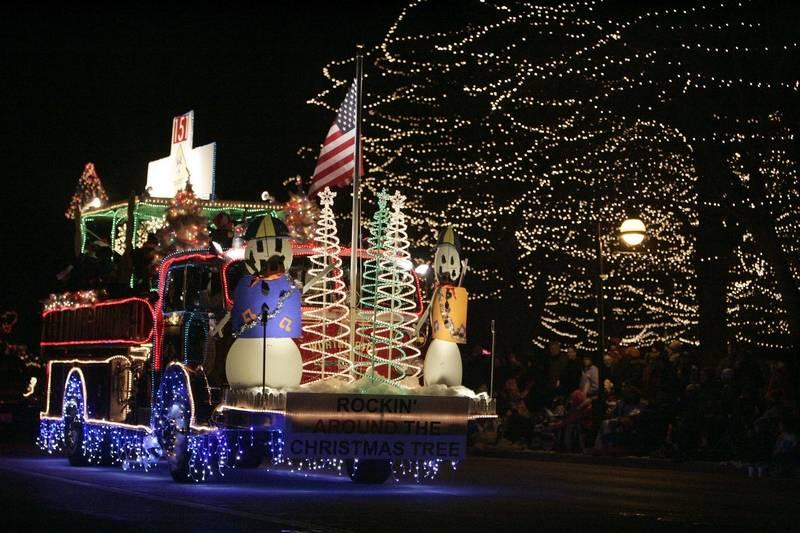 Lighting Basement Washroom Stairs: Holiday Homecoming And Electric Christmas Parade Light Up