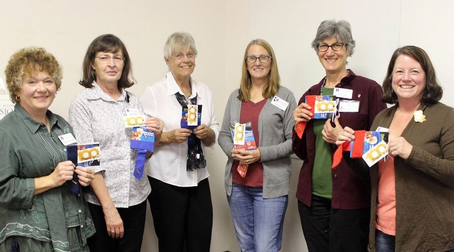 Volunteers recognized for contributions to Master Gardener