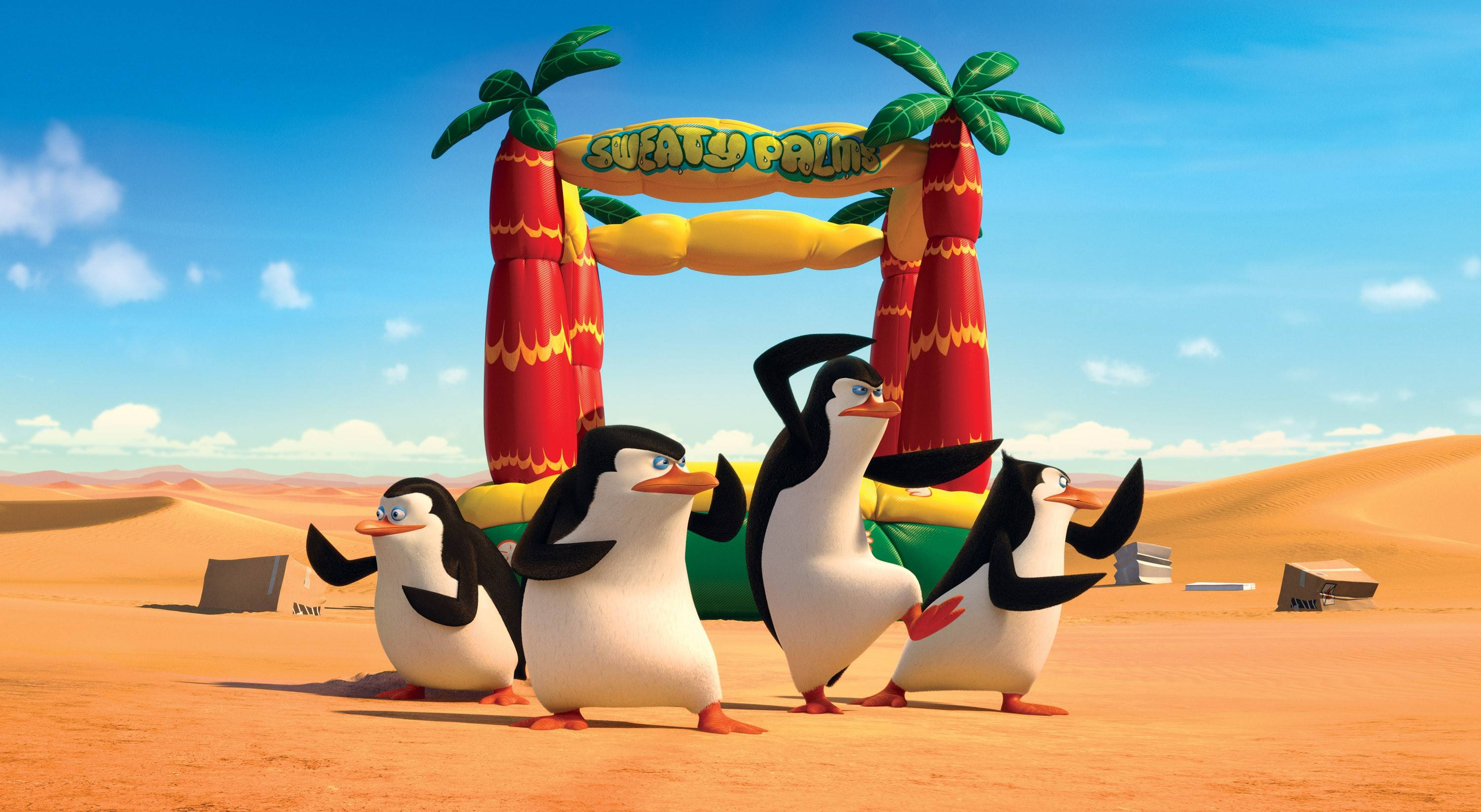 "The spy team returns in ""Penguins of Madagascar."""