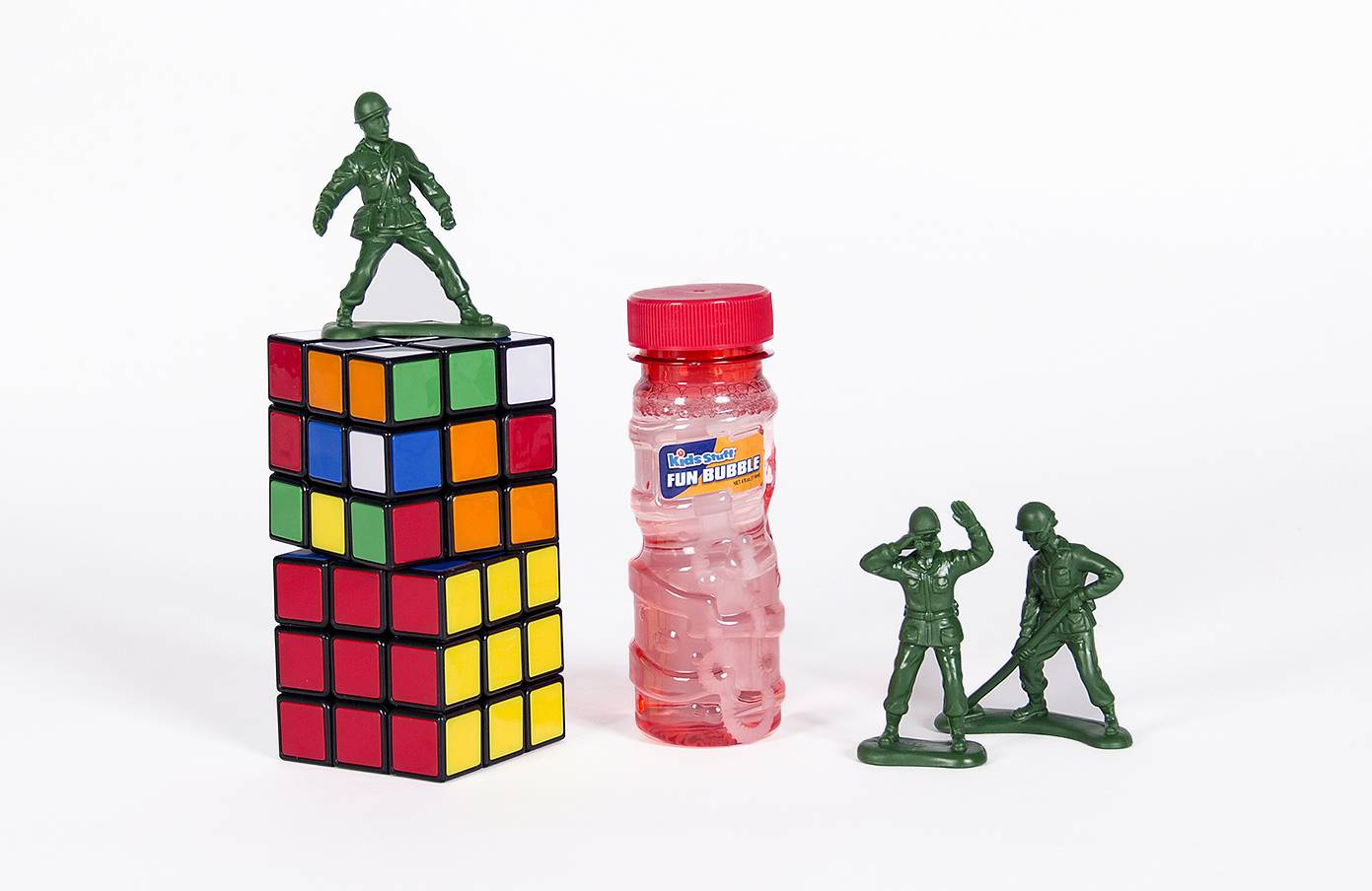 Bubbles, little green army men and the Rubik's Cube were inducted to the National Toy Hall of Fame this year. The toys enter the Rochester, N.Y., museum after being selected by a panel of expert judges from among a dozen finalists.