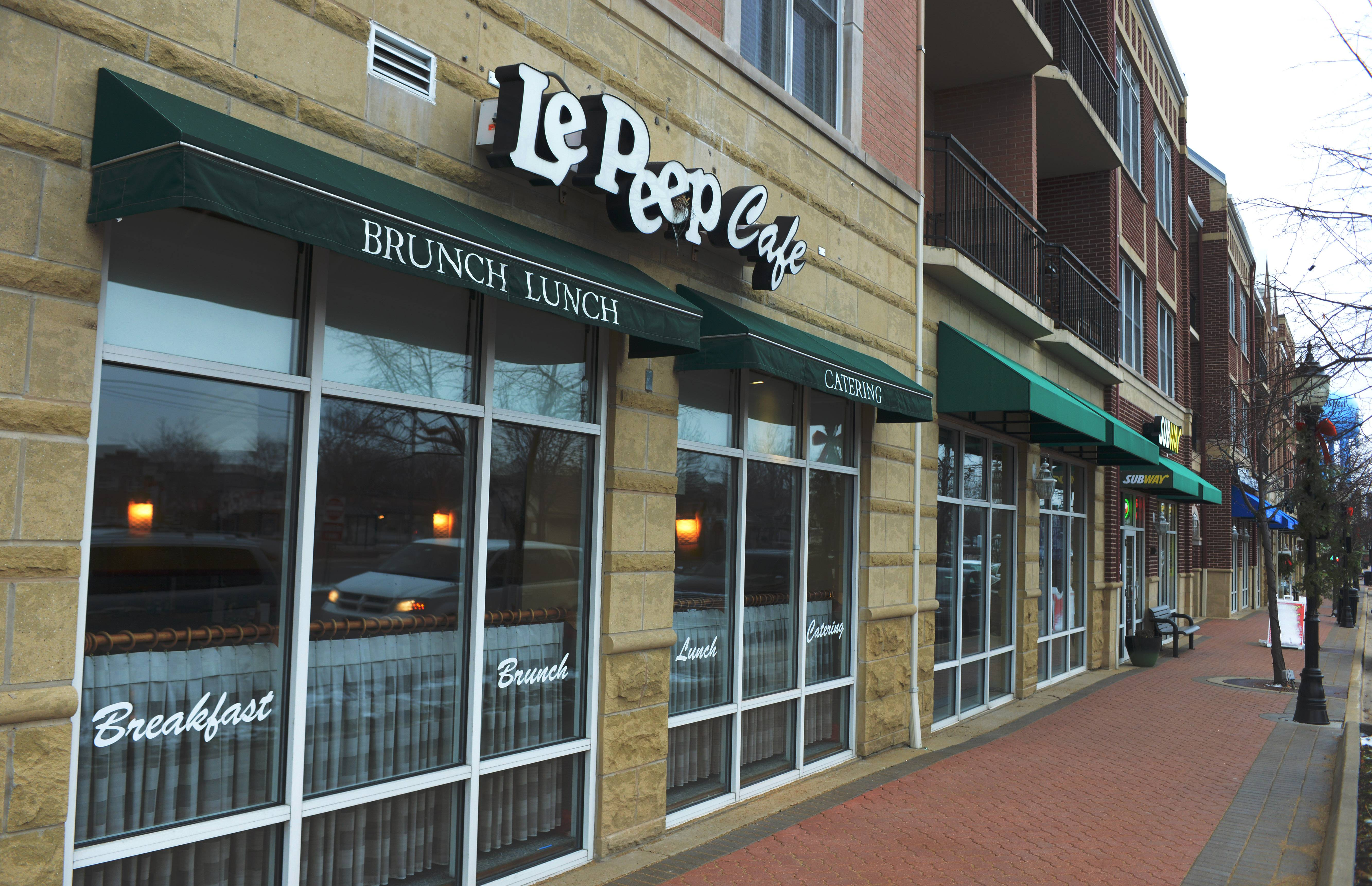 "Le Peep Cafe is one of the businesses in Mount Prospect participating in ""Small Business Saturday."""