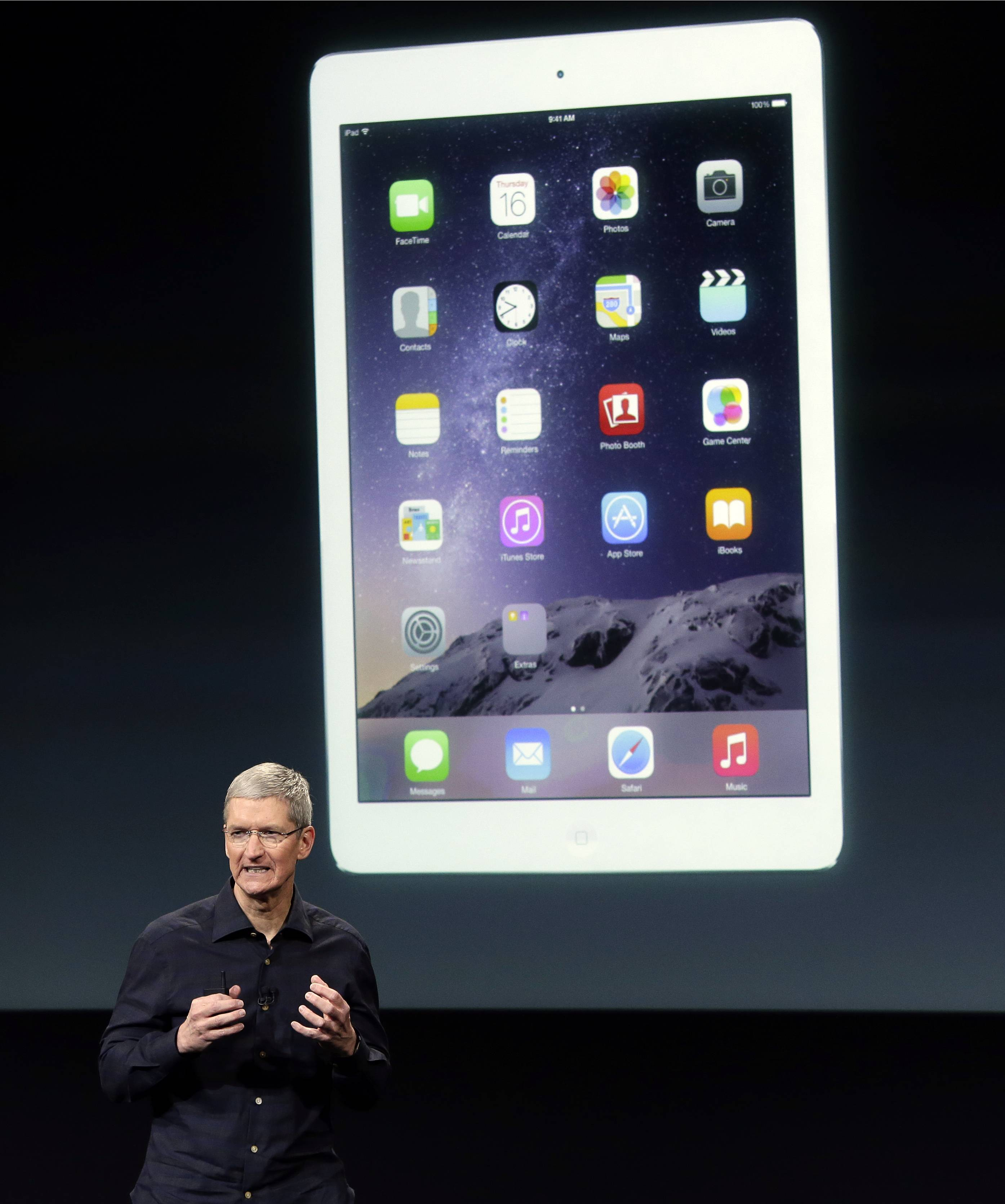 Apple CEO Tim Cook introduces the new Apple iPad Air 2. People tend to hold onto tablets longer than smartphones, so take time to weigh your options. A major consideration is what phone you or your gift recipient already has. Although it's possible for Android owners to have Apple's iPads, for instance, there are advantages to sticking within the same system. You often can buy apps just once and share them across both devices, and you don't need to learn two different systems.
