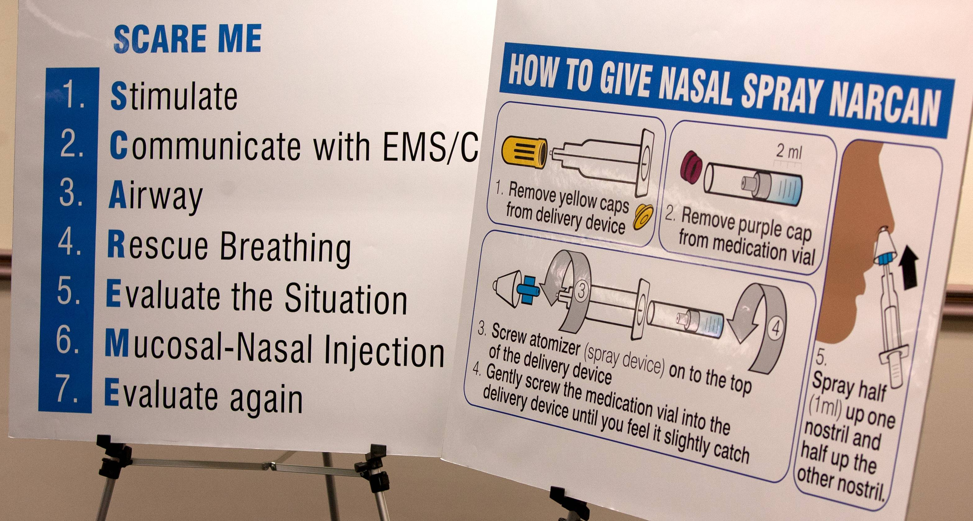 A DuPage County program that trains police officers on how to administer the opiate overdose reversal drug Narcan has received two large donations since October.