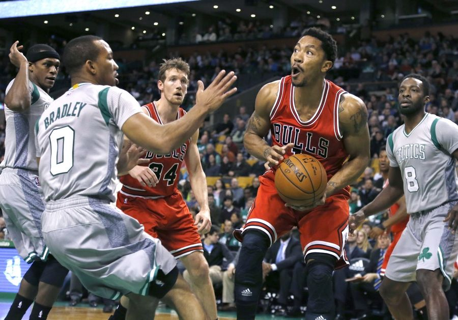 Bulls guard Derrick Rose said he felt fine a day after Friday's victory over the Celtics at Boston.