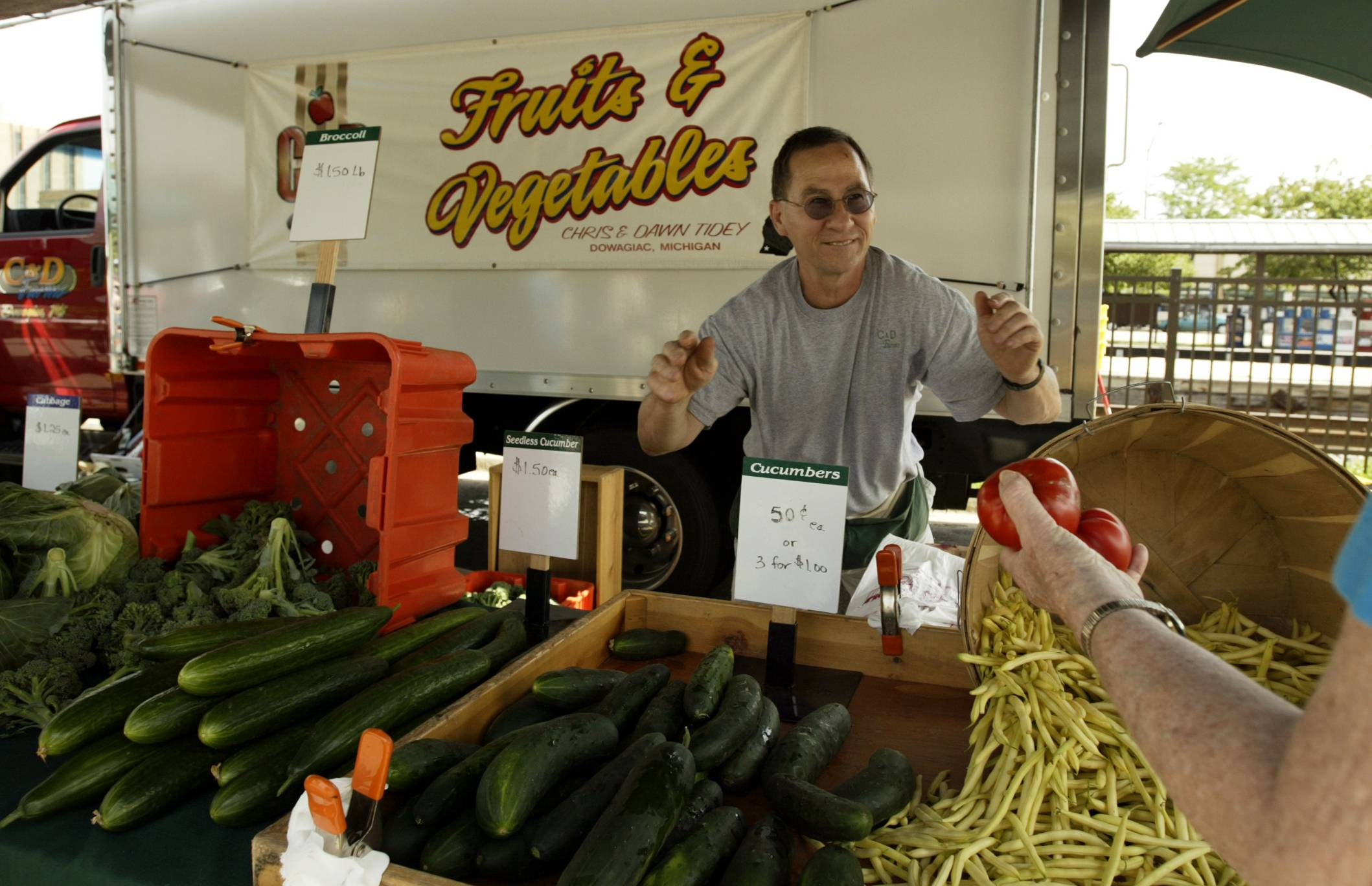 Des Plaines officials want to bring back downtown farmers market