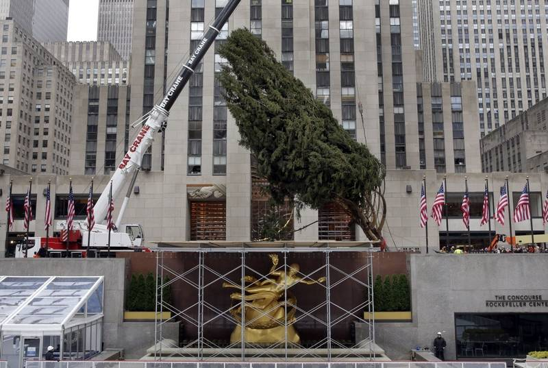 rockefeller center christmas tree lighting to be shown live. Black Bedroom Furniture Sets. Home Design Ideas