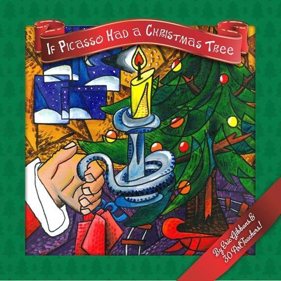 "Art teacher Heather Lass of St. Charles helped illustrate this children's book by New Jersey-based author and artist Eric Gibbons titled, ""If Picasso Had a Christmas Tree."" She was one of 30 art teachers from around the world who collaborated on the project."