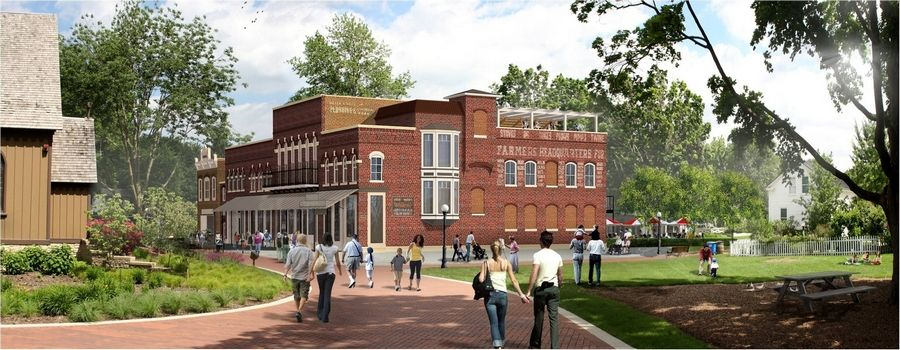 A new history museum called Scott's Block is being planned for Naper Settlement to be completed by the city's bicentennial in 2031.