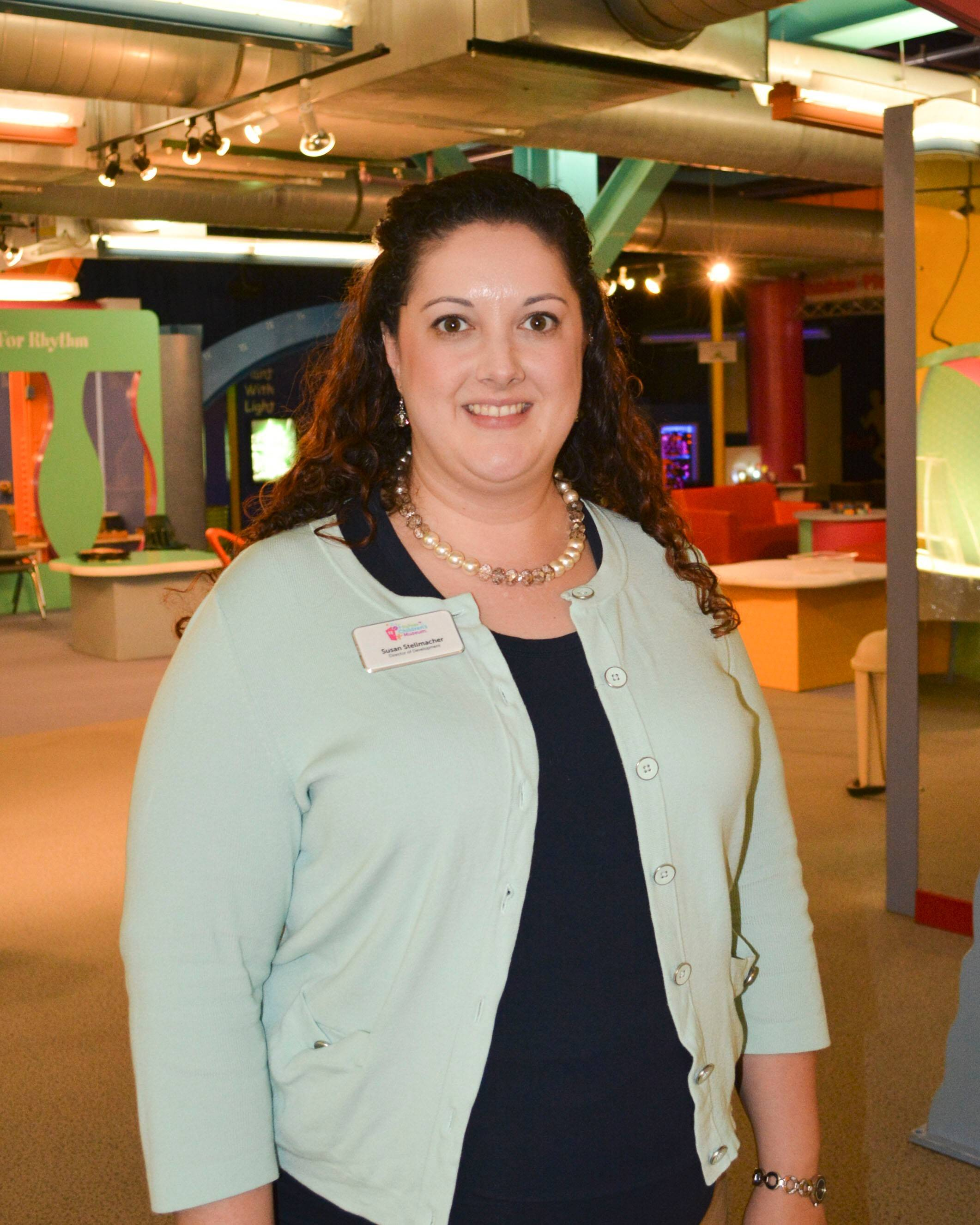 Susan Stellmacher has been named director of development for the Naperville-based DuPage Children's Museum.
