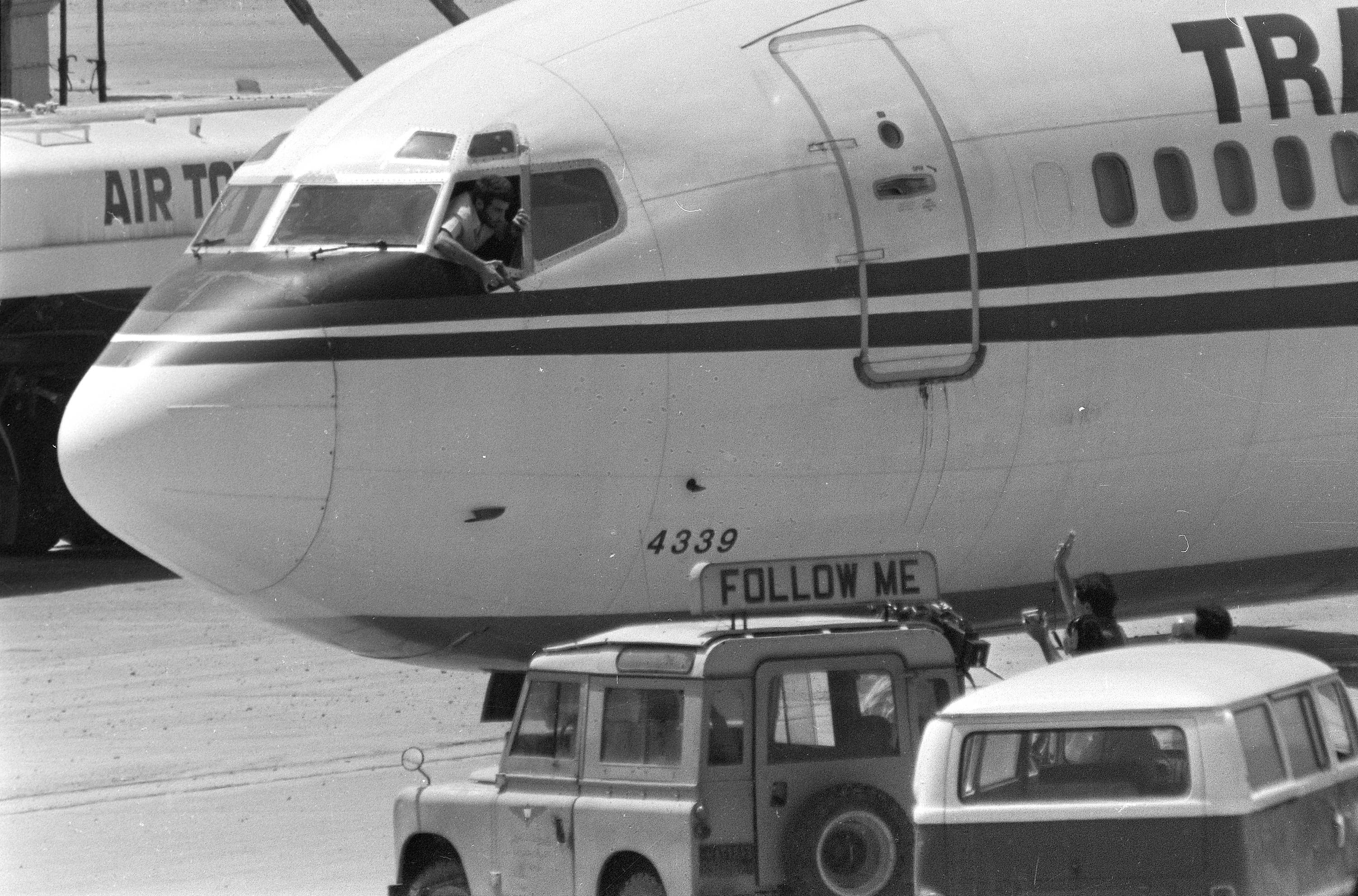 TWA Flight 847 from Athens to Rome was hijacked June 14, 1985, by Shiite Hezbollah militants who forced the plane to land in Beirut, Lebanon. Twenty members of St. Margaret Mary Parish in Algonquin were taken hostage that day and released unharmed after 17 days in captivity.