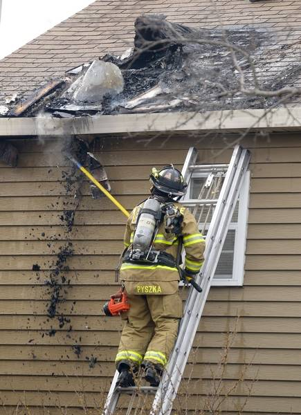 Chimney Fire Damages Warrenville Home No Injuries Reported