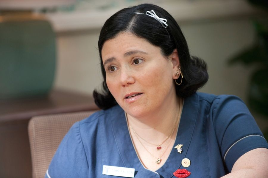 "Alex Borstein, a Deerfield native and the voice of Lois on FOX's ""Family Guy,"" stars on the HBO series ""Getting On."""