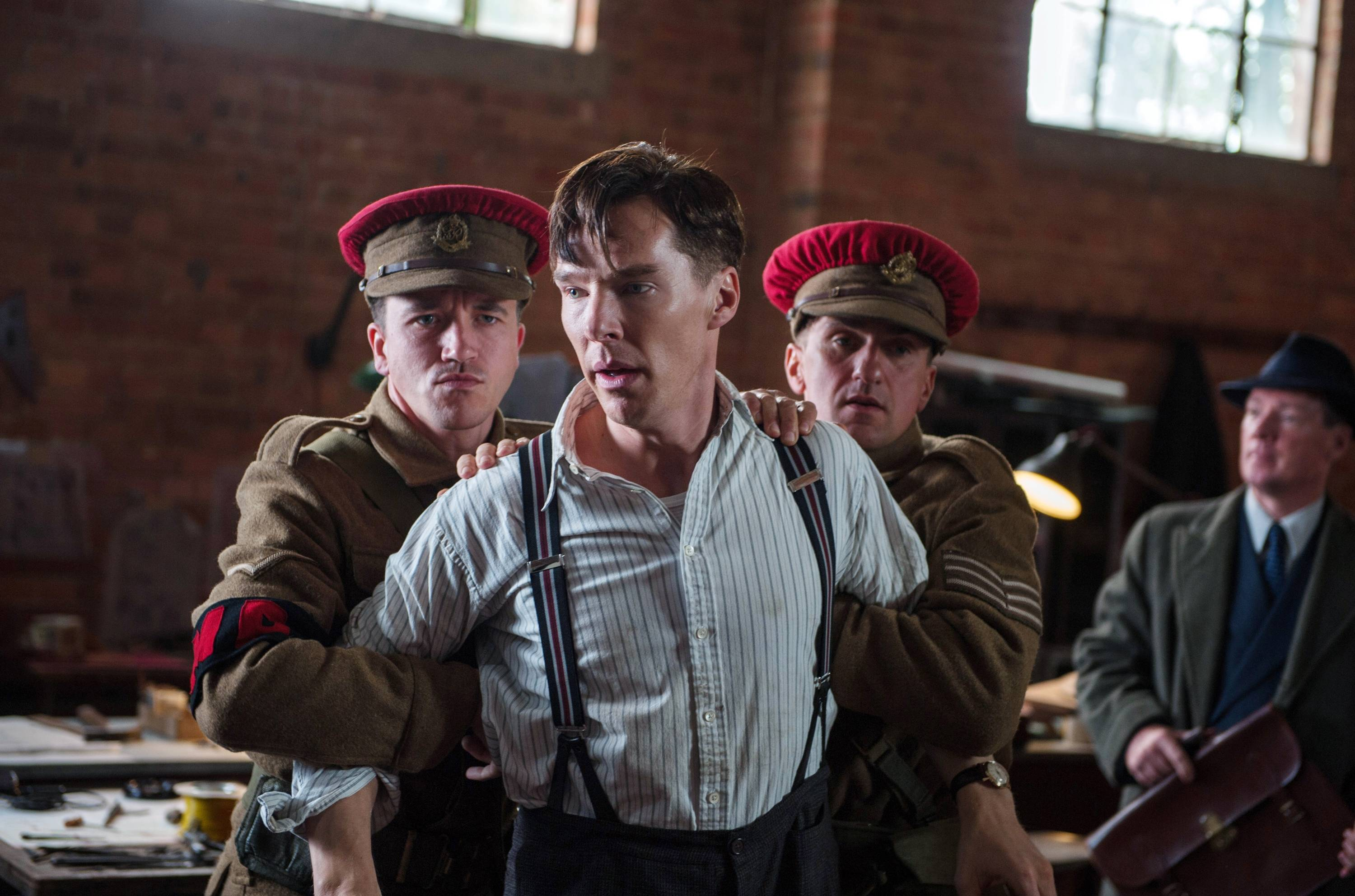 "Benedict Cumberbatch stars in ""The Imitation Game."" The American Film Institute announced its top 10 films of the year Monday, including ""Imitation Game."""