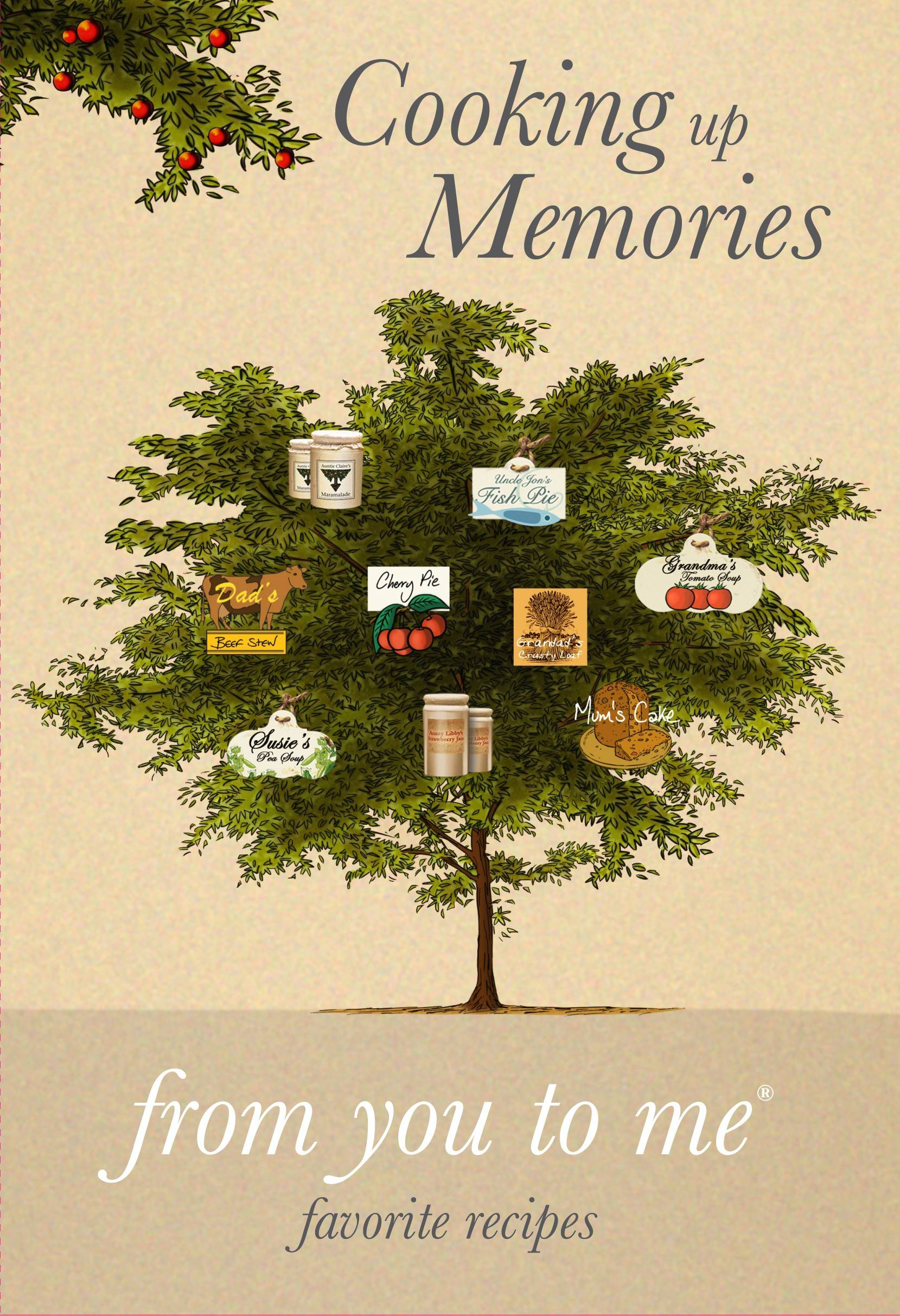 "Cooks on your holiday list will enjoy ""Cooking up Memories,"" a hardcover journal."