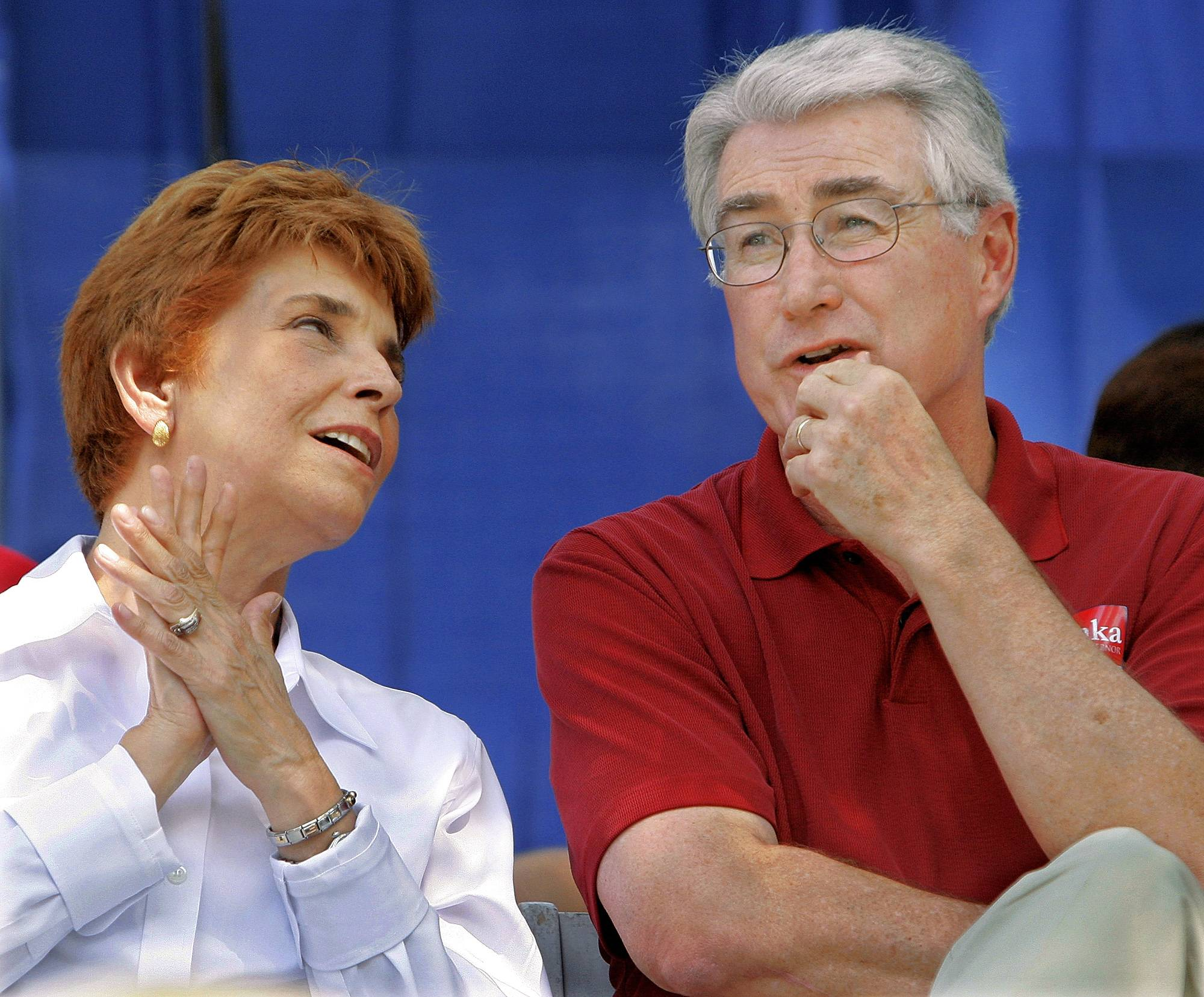 Jim Edgar says Topinka's '06 loss to Blagojevich 'the public's fault'