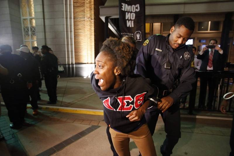 Black Sororities Fraternities Differ On Protests