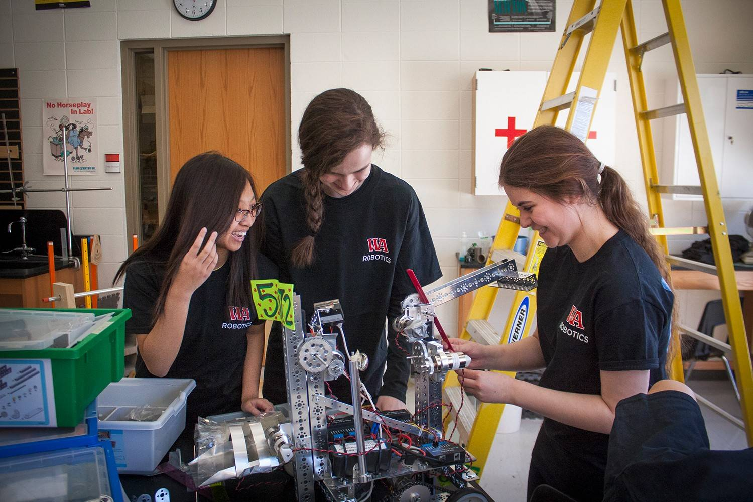 Woodlands Academy Robotics Club Excels In National Competition