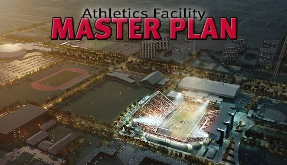 This artist's rendering shows Northern Illinois University's plans to double the expansion of Huskie Stadium.