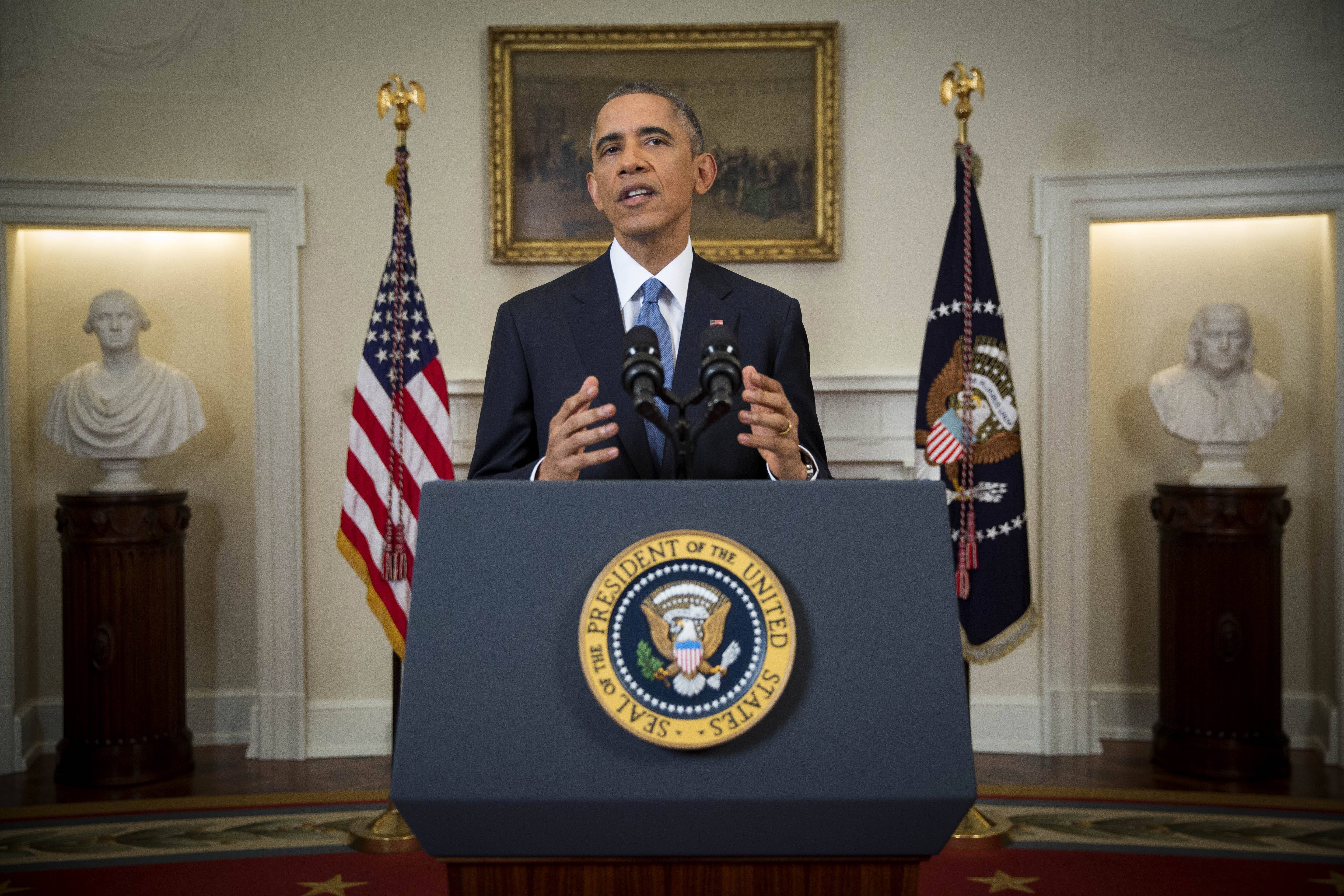 "President Barack Obama announced the re-establishment of diplomatic relations with Cuba on Wednesday and declared an end to America's ""outdated approach"" to the communist island in a historic shift aimed at ending a half-century of Cold War enmity."