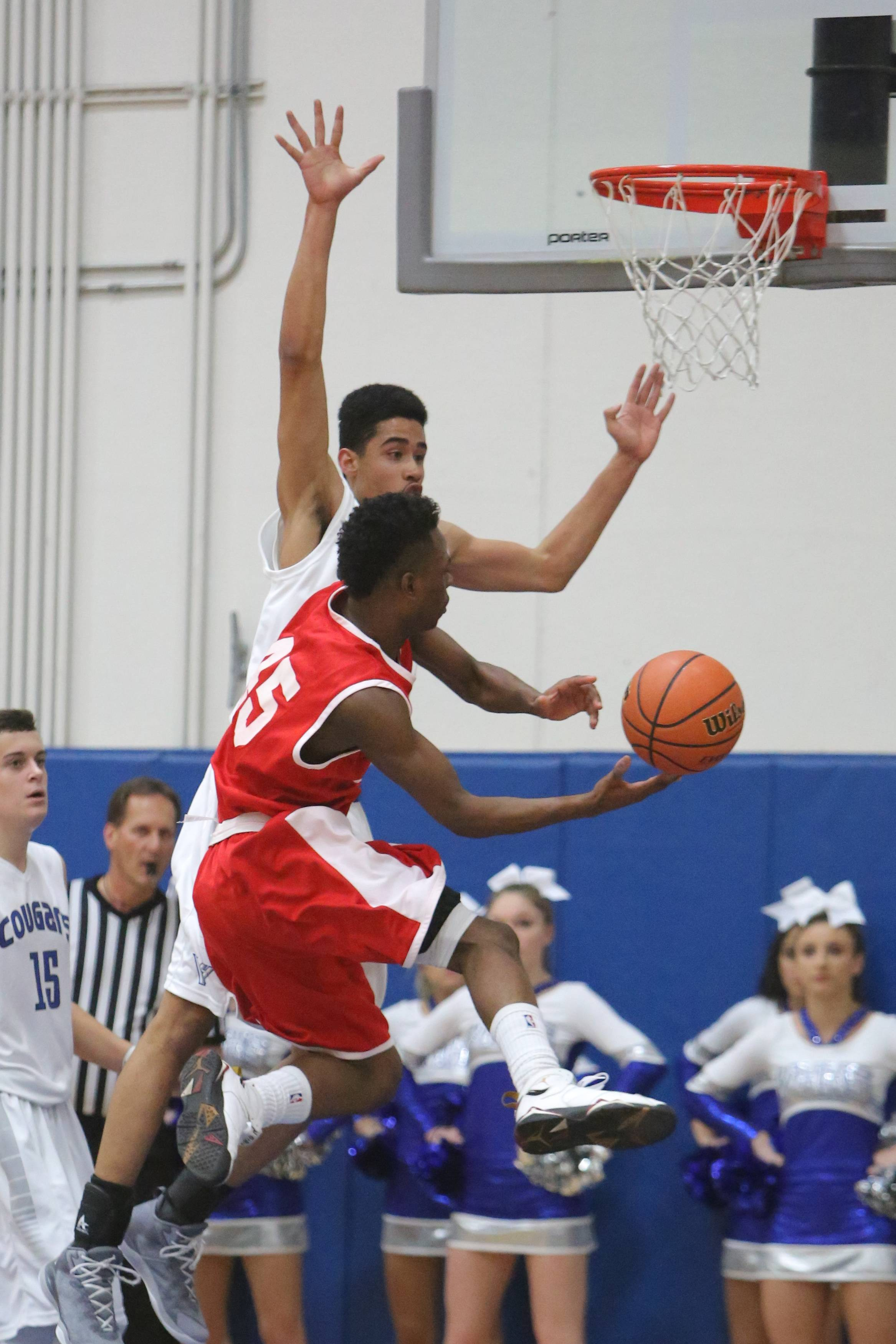 Images from the North Chicago at Vernon Hills boys basketball game on Wednesday, Dec. 17.