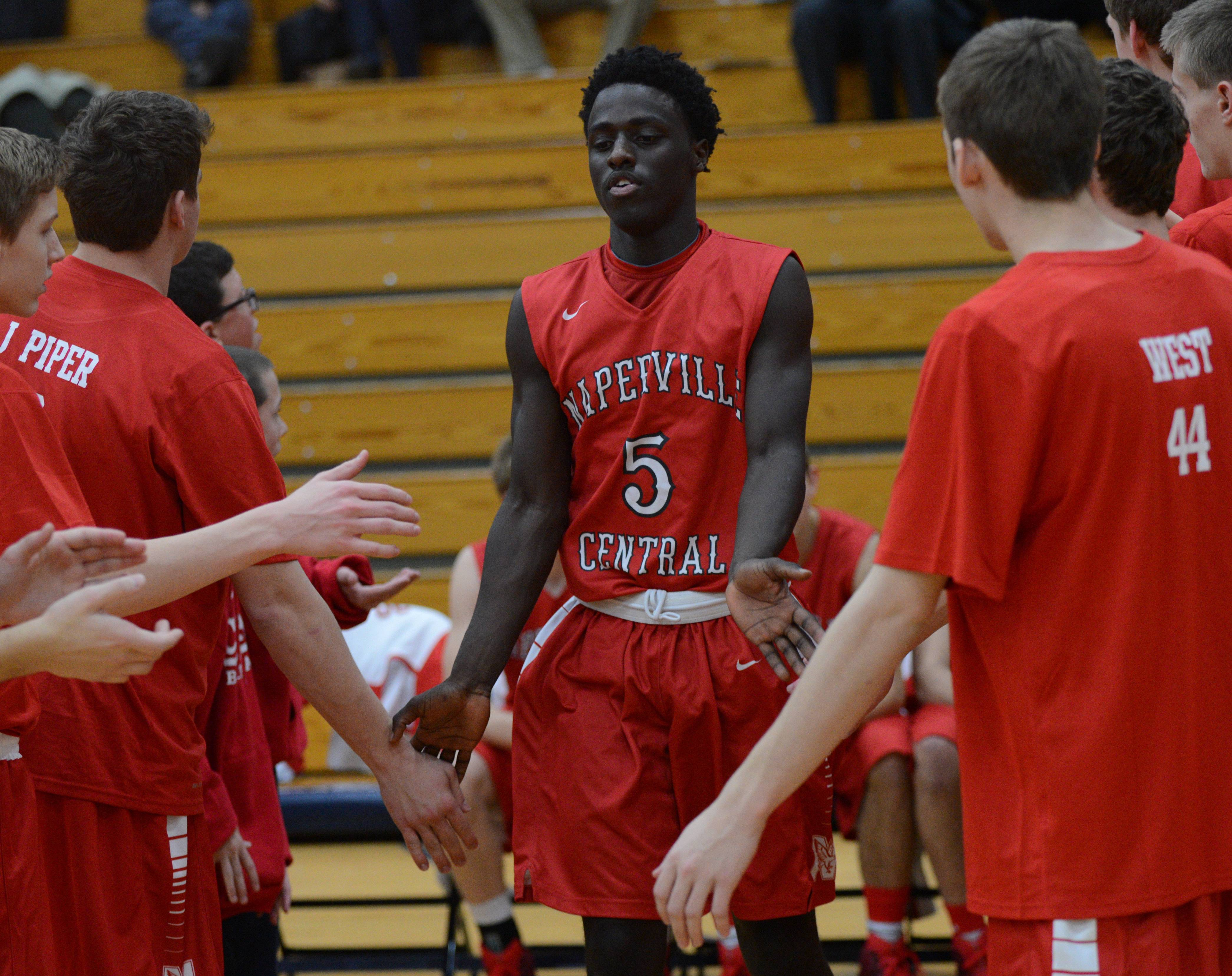 Addison Trail hosted Naperville Central Wednesday evening for boys basketball.