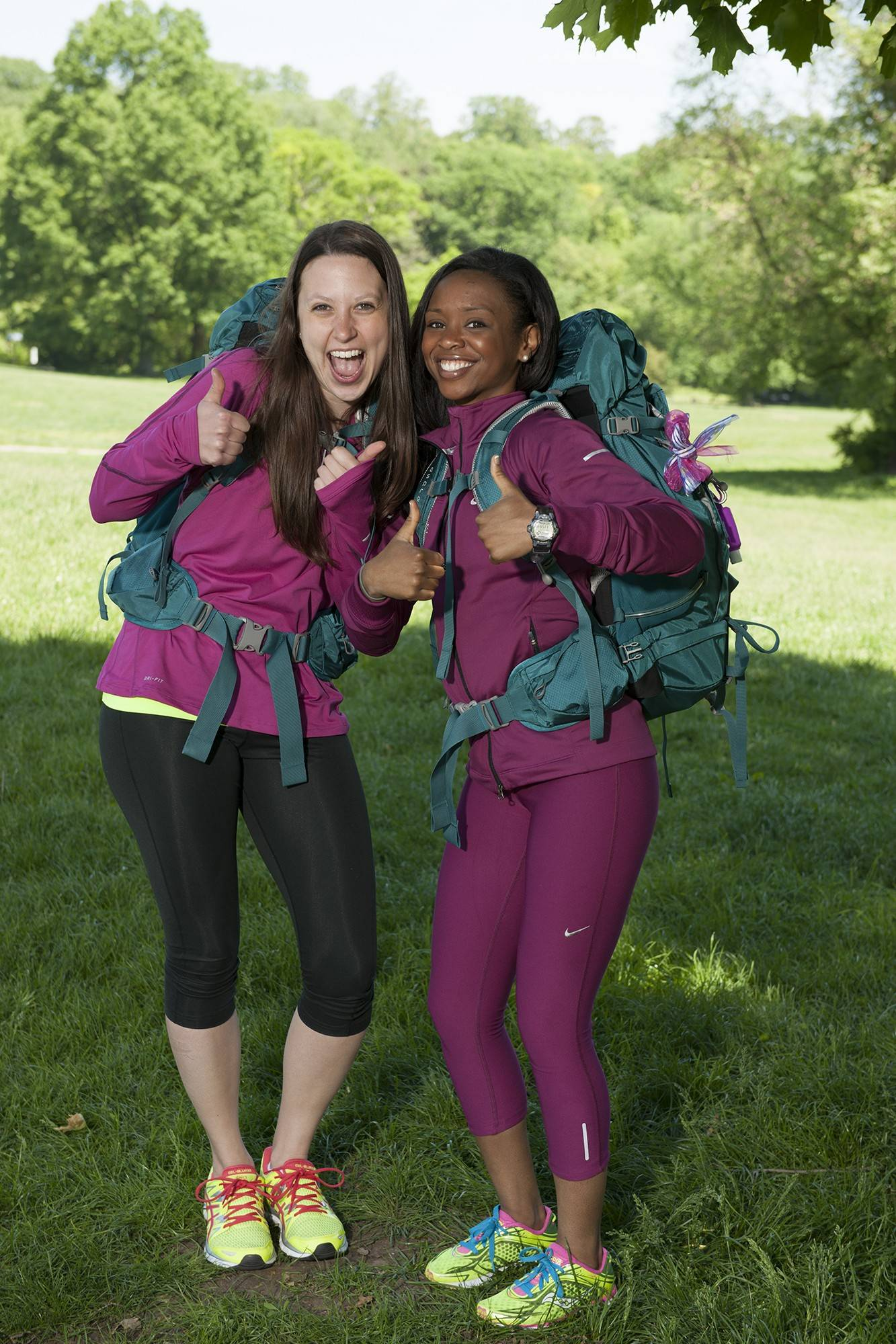 "Amy DeJong, left, and teammate Maya Warren have made it to the season finale of the CBS reality show ""The Amazing Race,"" which airs at 7 tonight. DeJong is a 2008 graduate of Barrington High School. She could win a share of the $1 million top prize."
