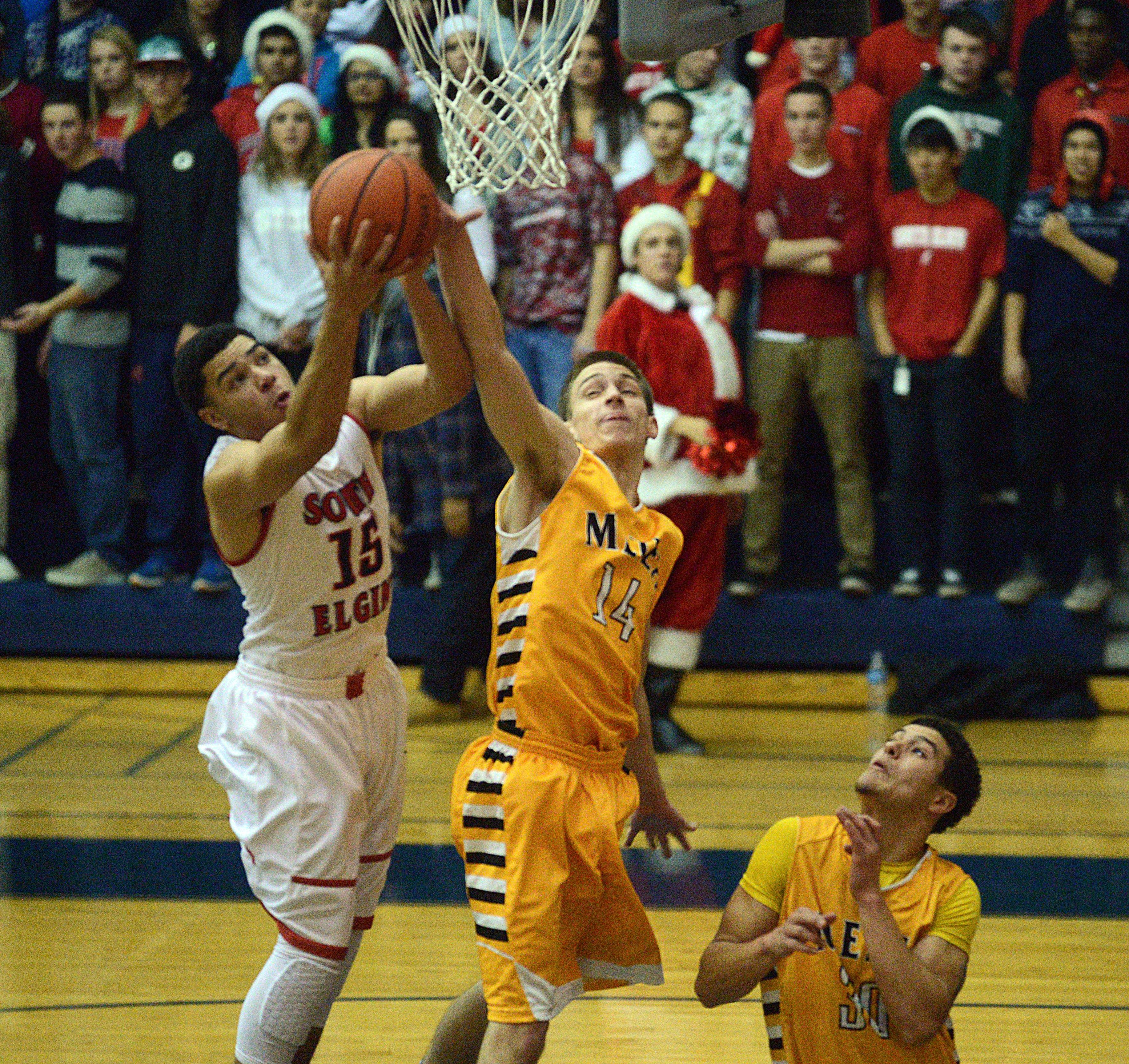 Conklin, Metea Valley too much for South Elgin