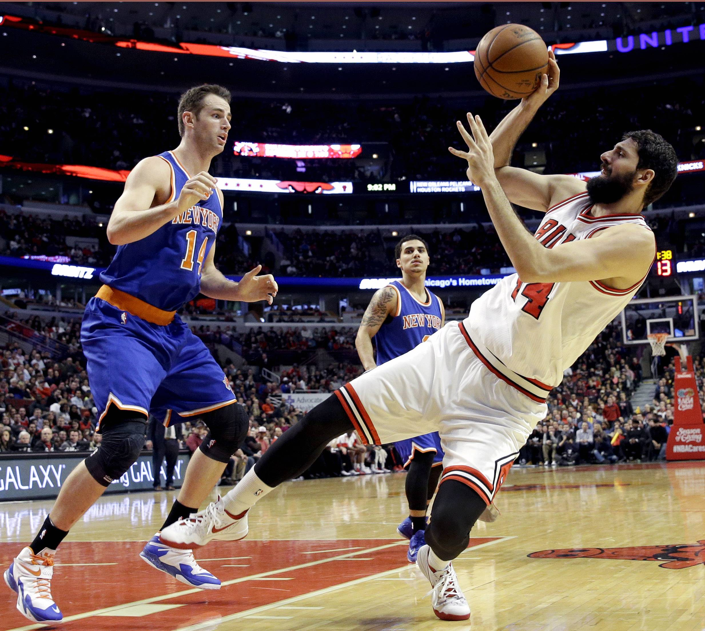 The Bulls' Nikola Mirotic may quickly become one of the NBA's most dangerous X-factors, as evidenced by his 27 points and 6-for-6 performance from 3-point range in Friday's win at Memphis according to Mike McGraw.