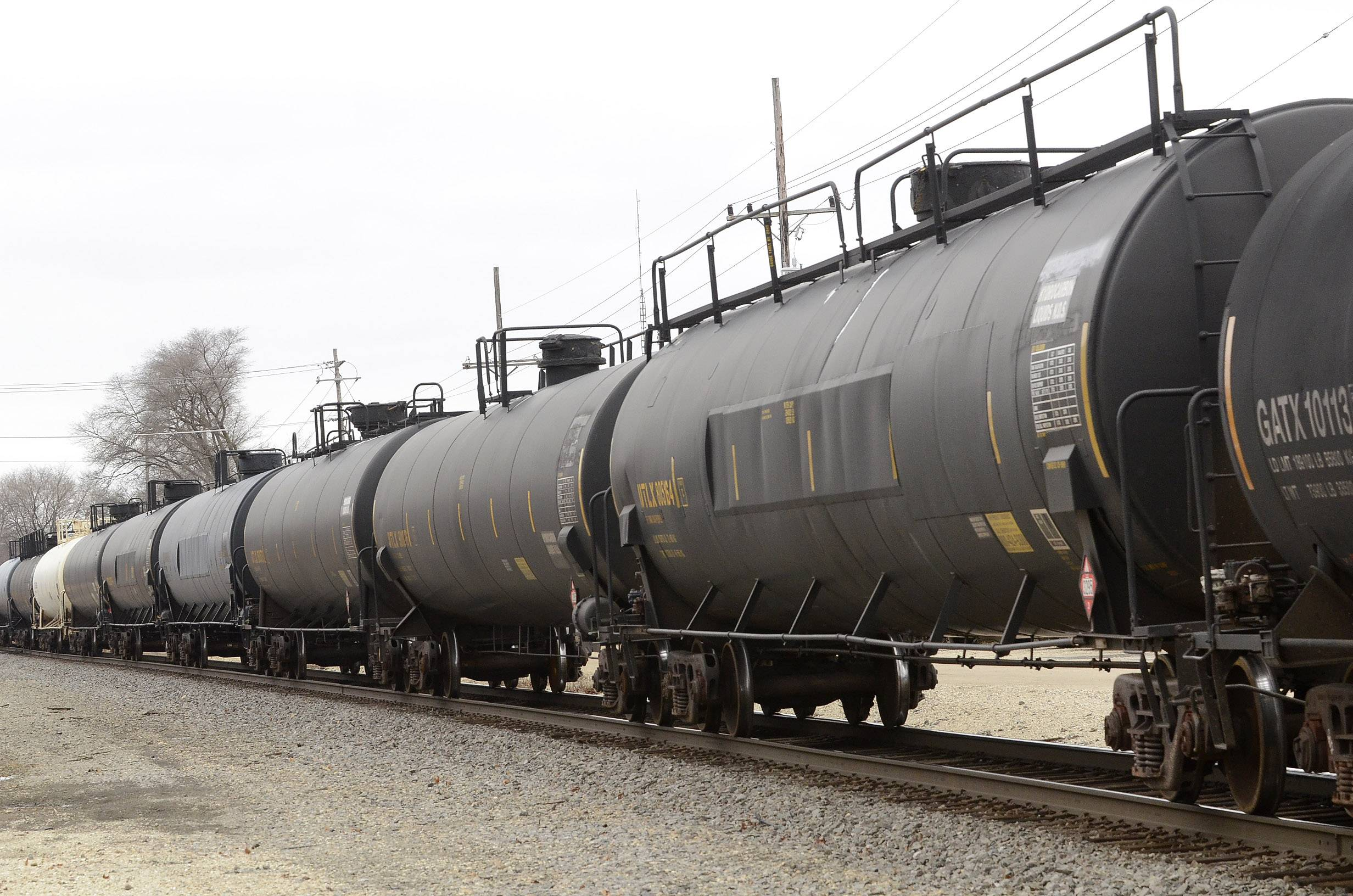 Freight trains carrying hazardous materials are part of the landscape in towns such as Barrington. But leaks and spills from tank cars add up to a significant amount of hazmat being released into the environment.