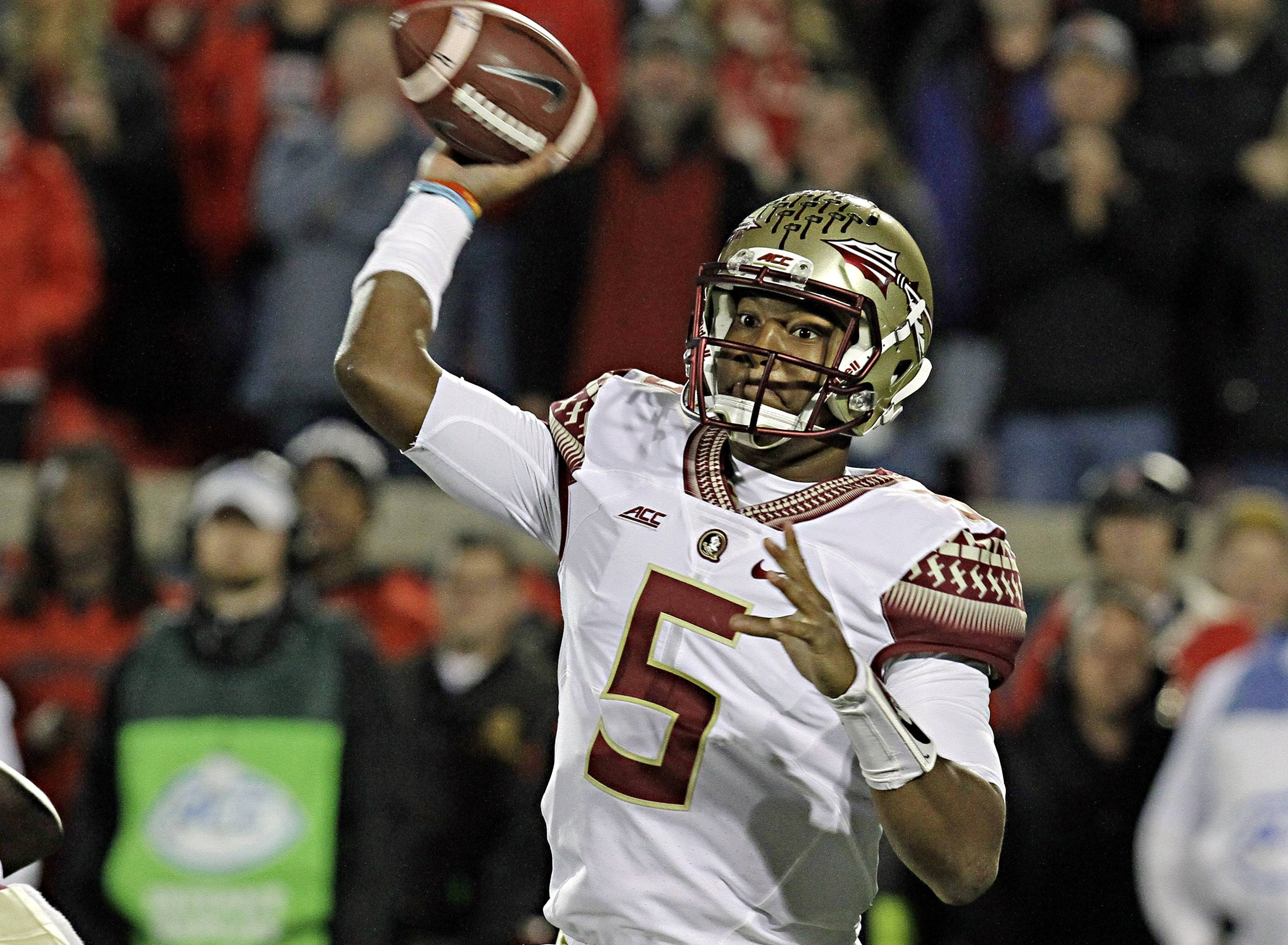 If Florida State's Jameis Winston is available when the Bears make their first-round draft pick next spring, would they take him?