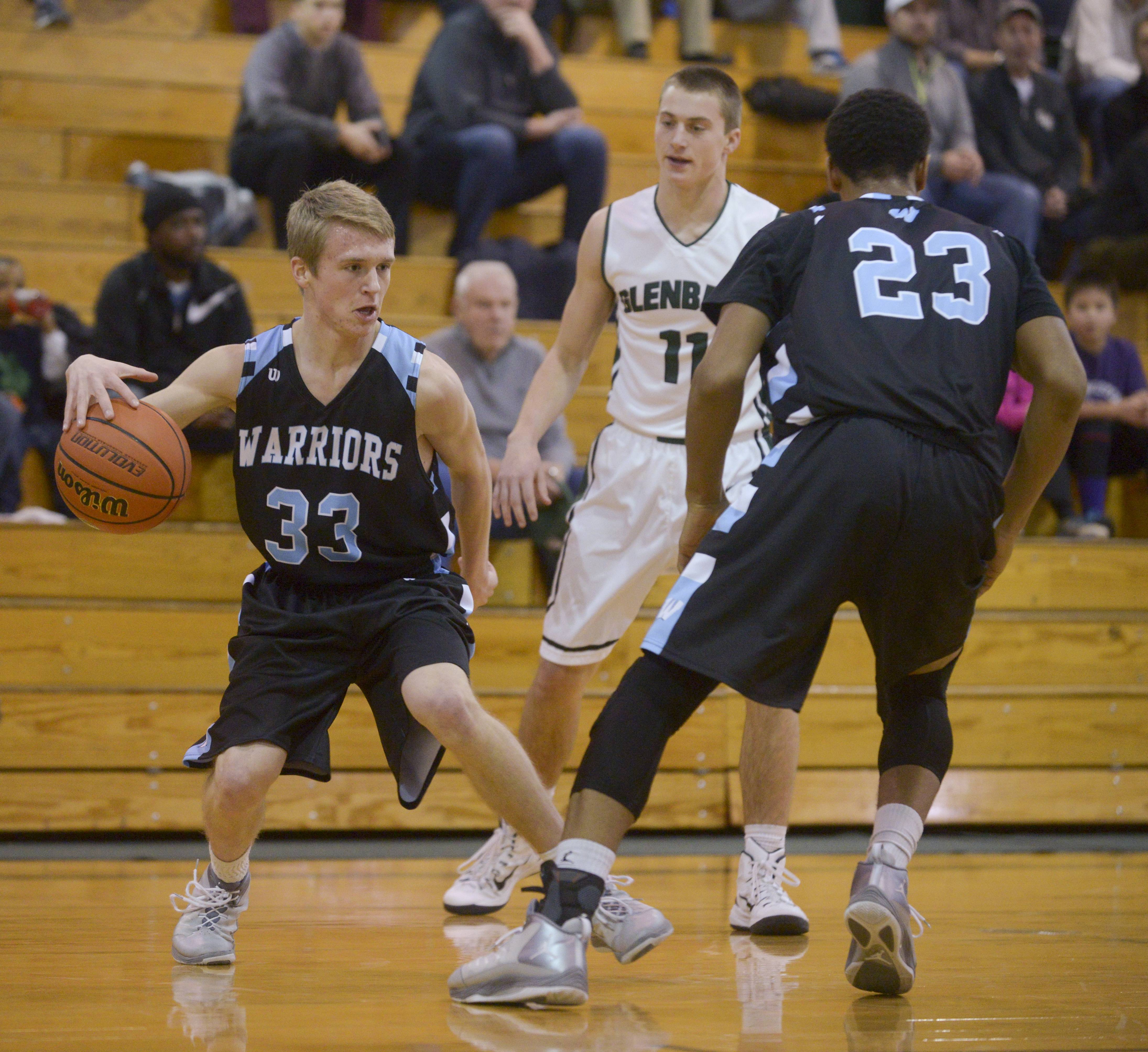 Glenbard West hosted Willowbrook Monday night for boys basketball.